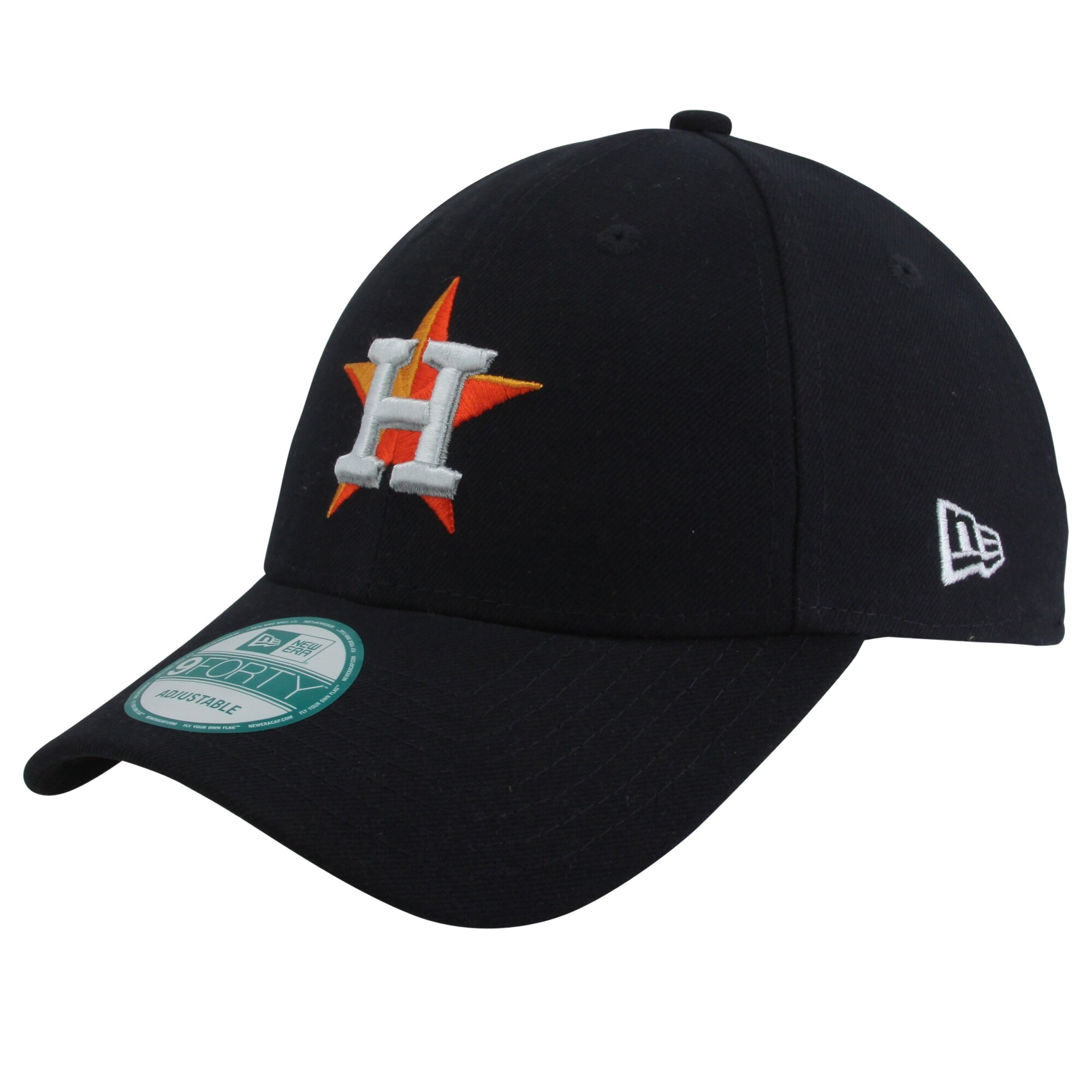 Houston Astros New Era Youth The League 9FORTY Adjustable Hat - Navy