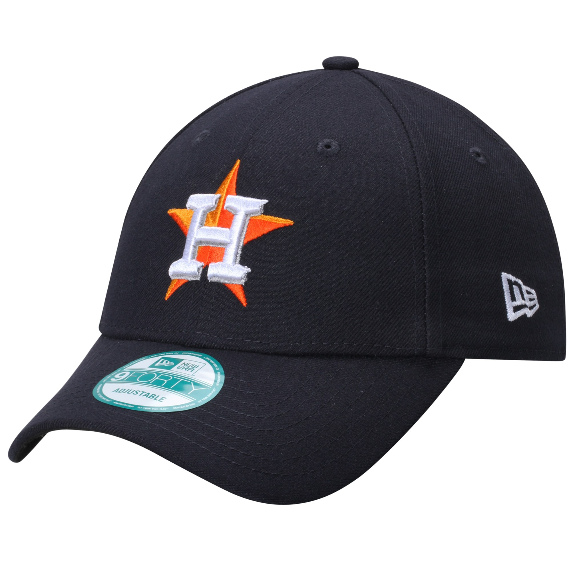 Houston Astros New Era Men's League 9FORTY Adjustable Hat - Navy