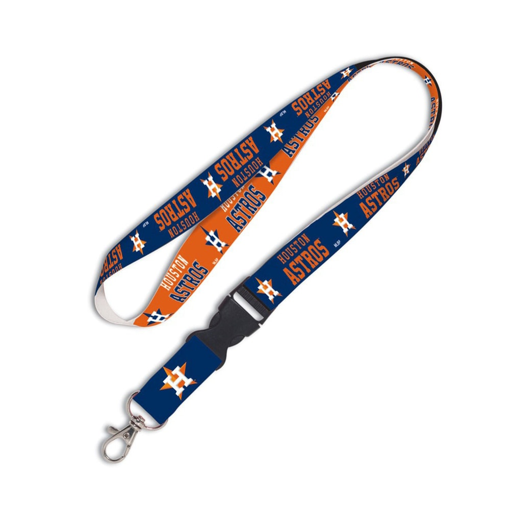 Houston Astros WinCraft Lanyard with Detachable Buckle
