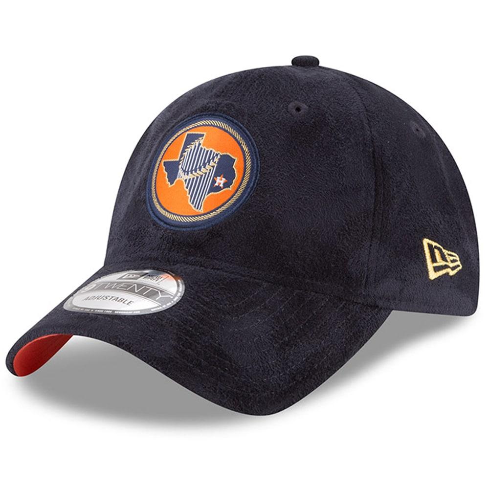 Houston Astros New Era 2017 World Series Champions State Trophy 9TWENTY Adjustable Hat - Navy