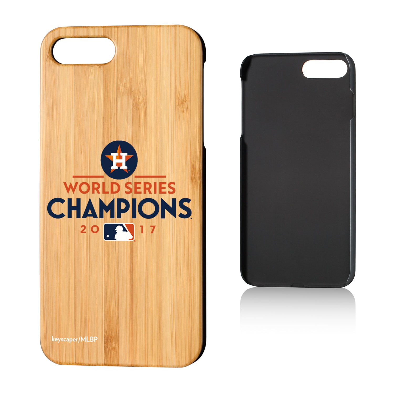 Houston Astros 2017 World Series Champions iPhone 7 Plus/8 Plus Bamboo Case
