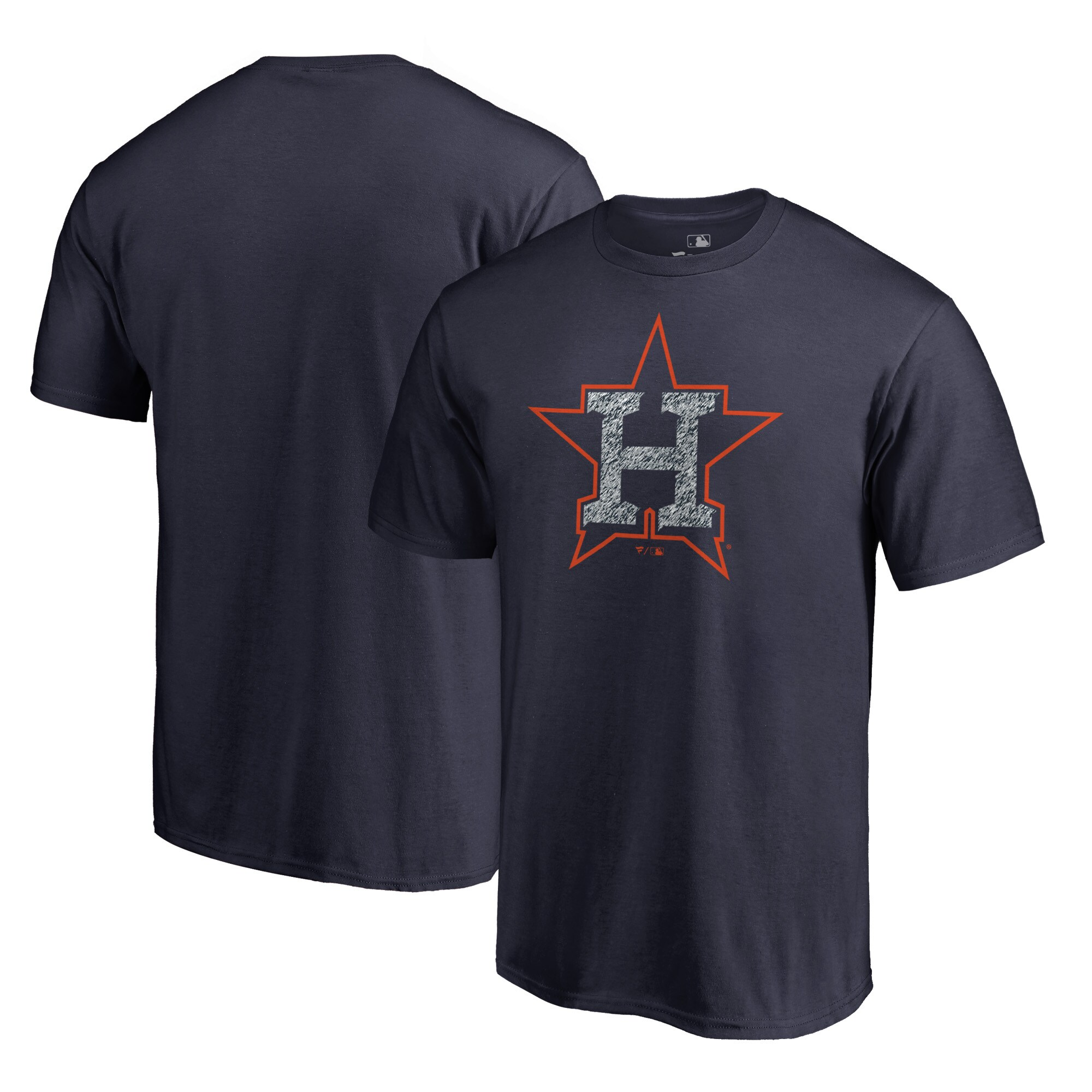 Houston Astros Fanatics Branded Static Logo T-Shirt - Navy