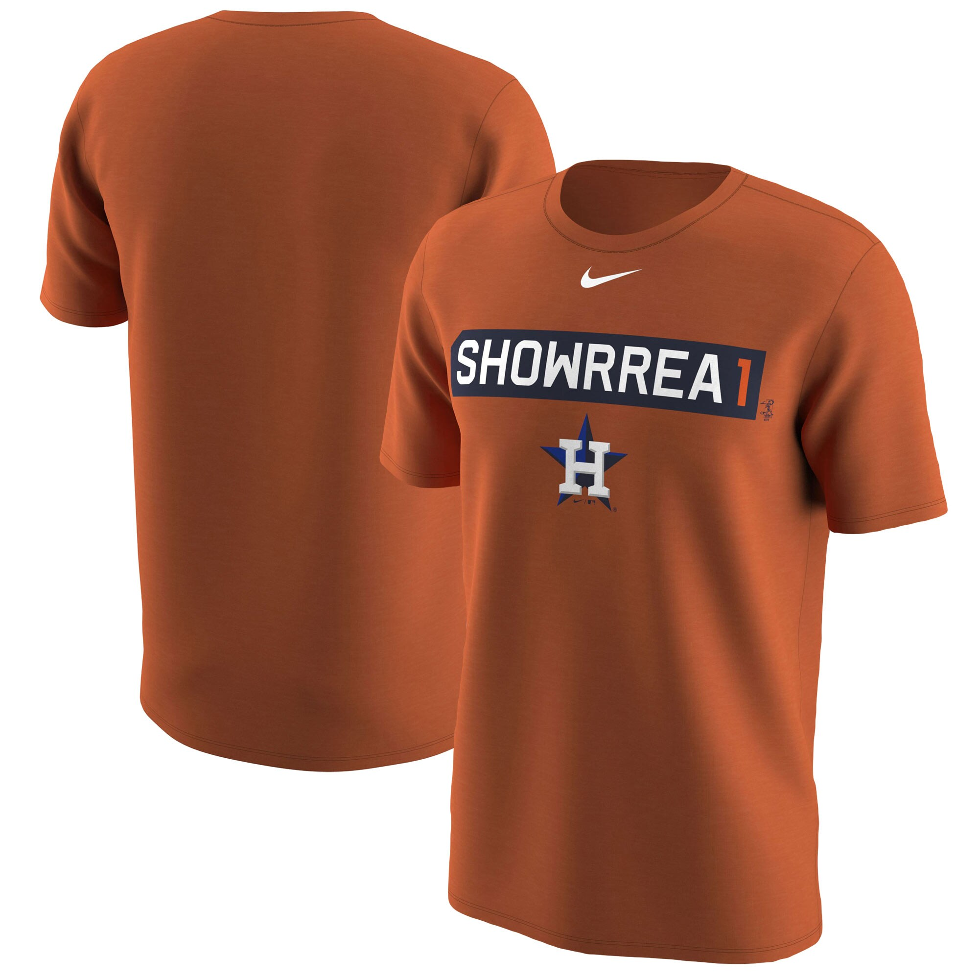 Carlos Correa Houston Astros Nike Legend Player Nickname Name & Number T-Shirt - Orange
