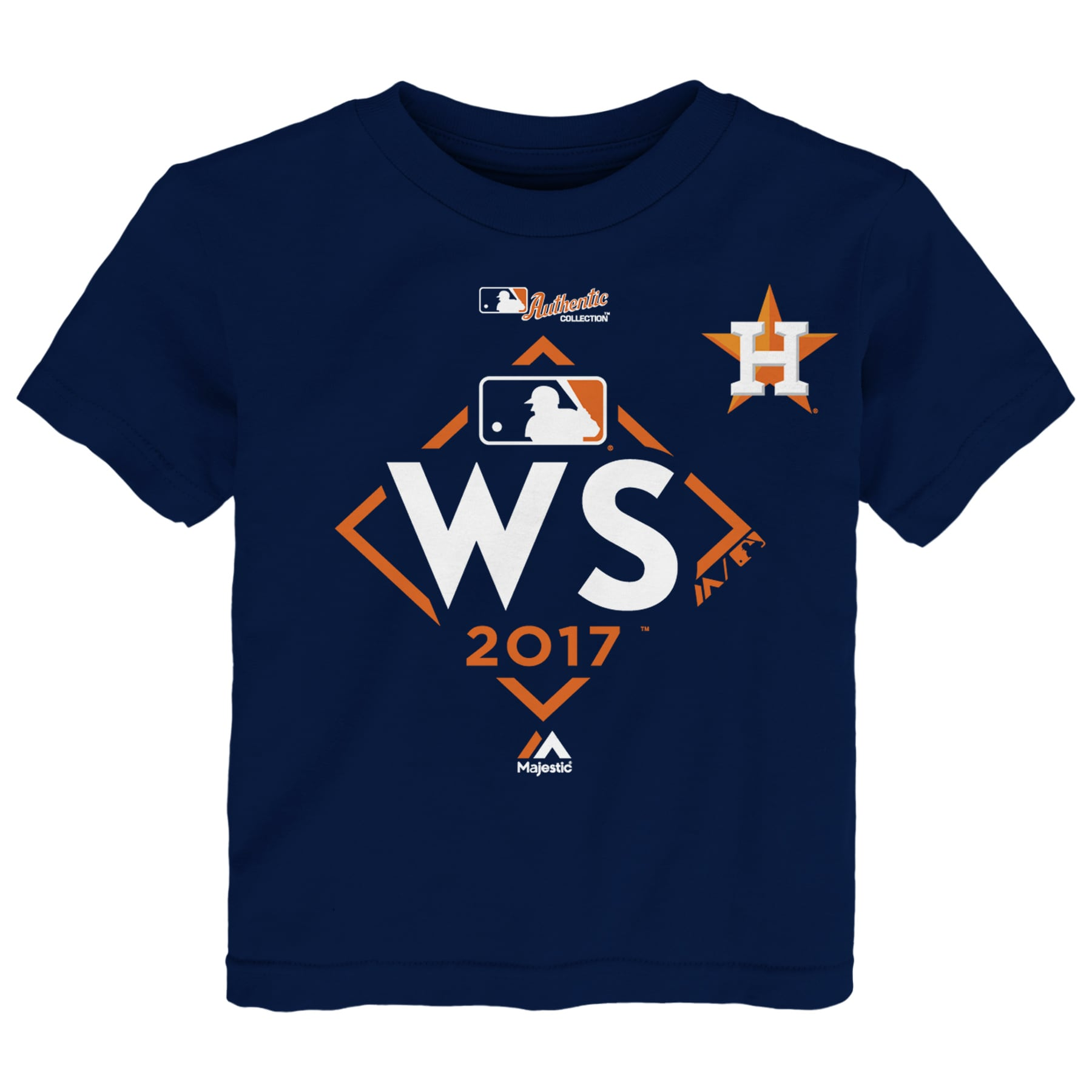 Houston Astros Majestic Toddler 2017 World Series Bound T-Shirt - Navy