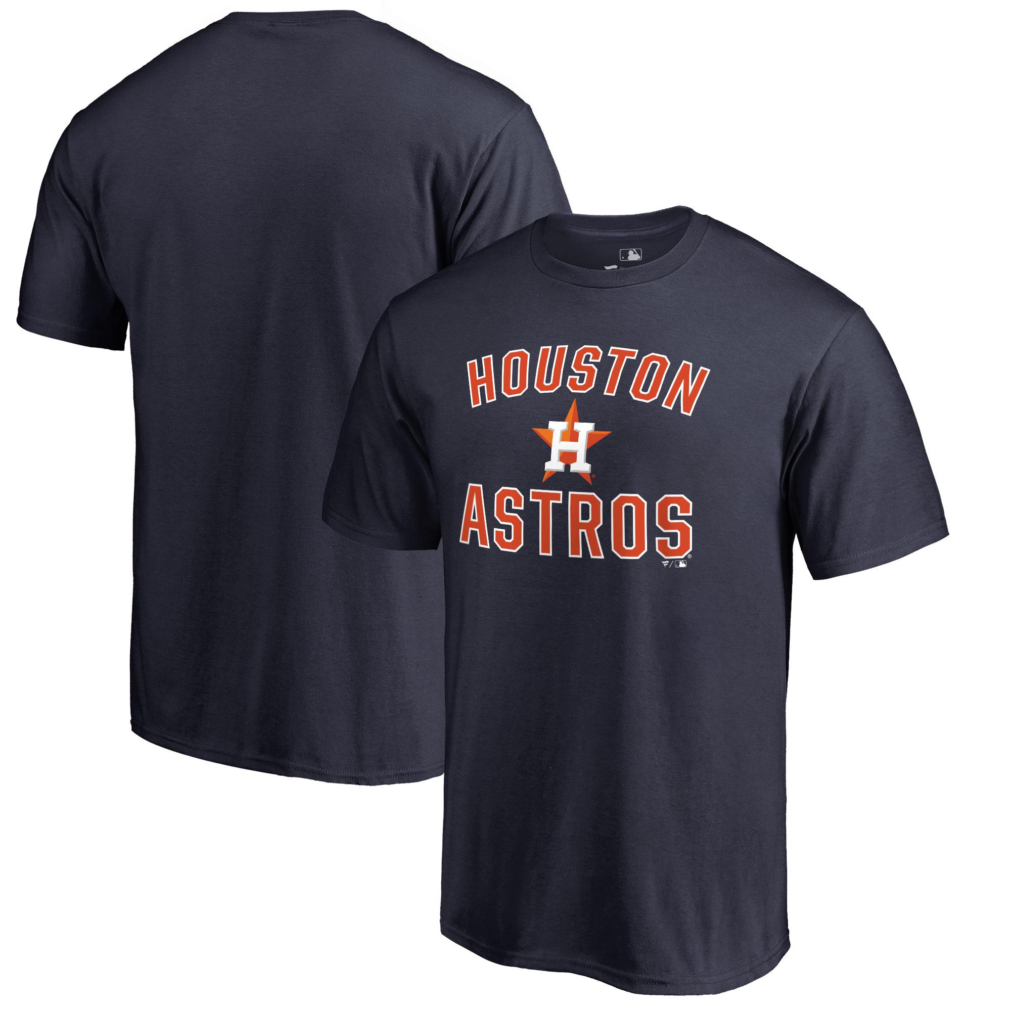 Houston Astros Victory Arch Big & Tall T-Shirt - Navy