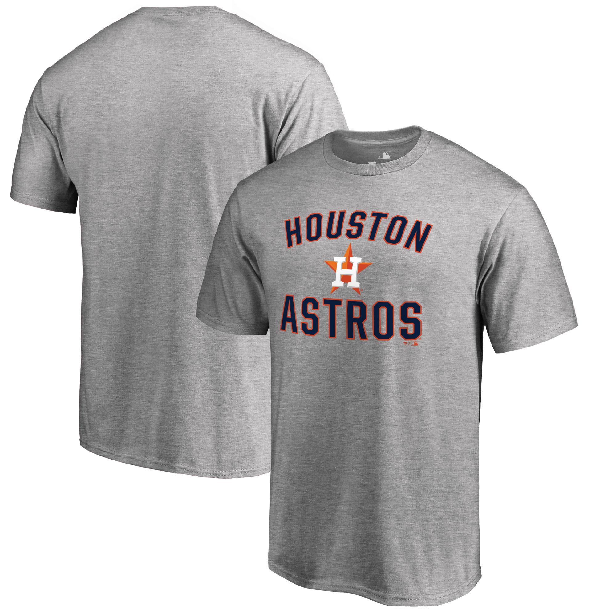 Houston Astros Big & Tall Victory Arch T-Shirt - Ash