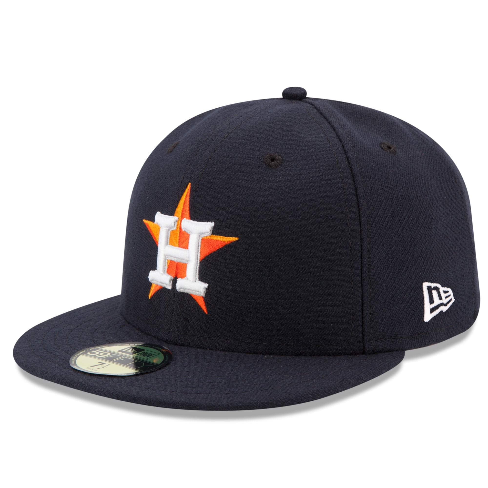 Houston Astros New Era Home Authentic Collection On Field 59FIFTY Performance Fitted Hat - Navy