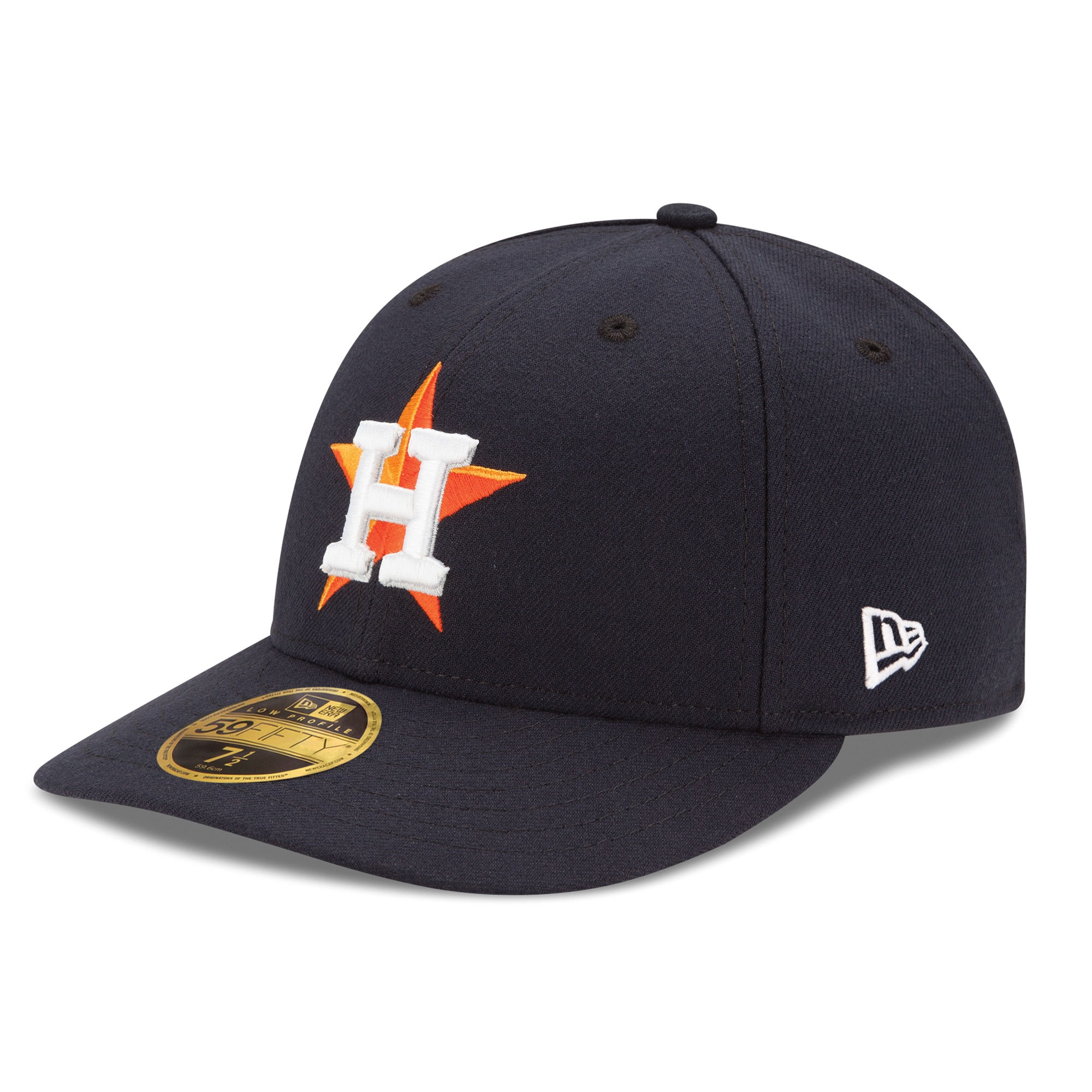 Houston Astros New Era Home Authentic Collection On-Field Low Profile 59FIFTY Fitted Hat - Navy