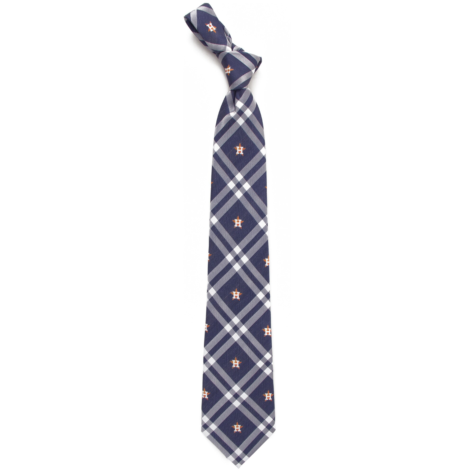 Houston Astros Rhodes Tie - Navy