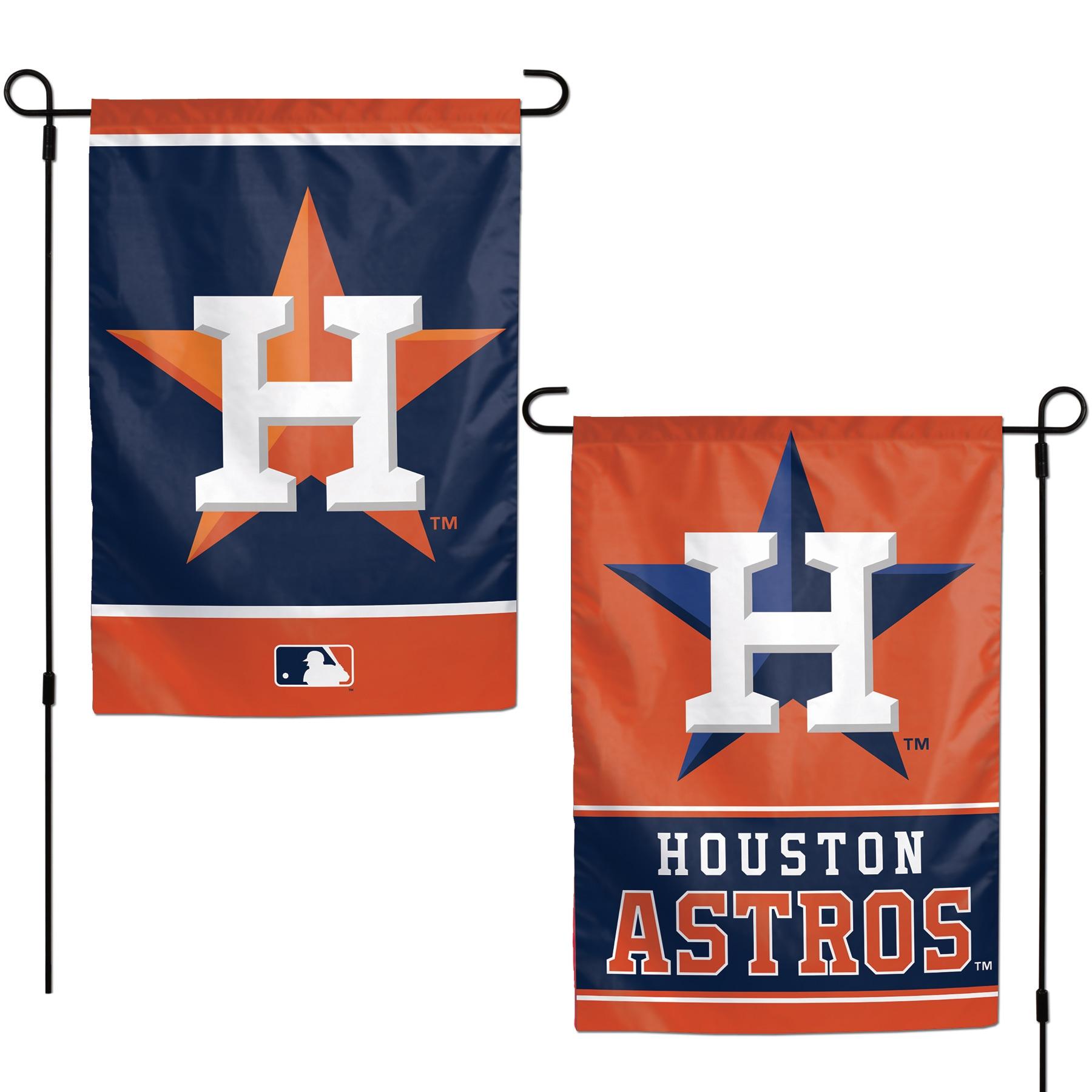 "Houston Astros WinCraft 12"" x 18"" Double-Sided Garden Flag"