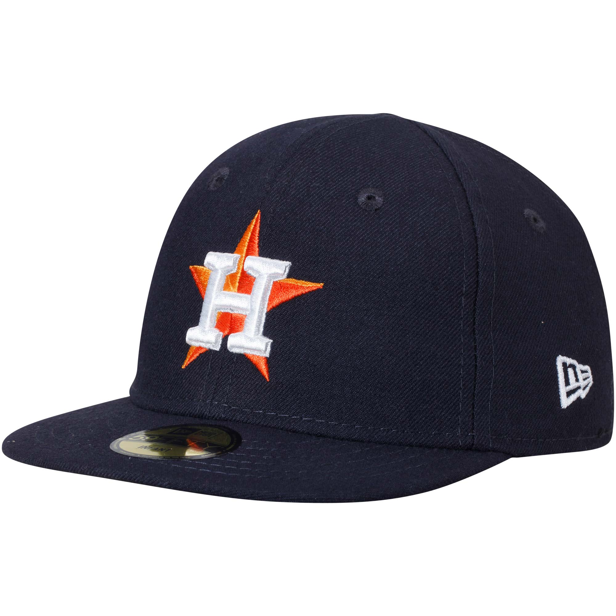 Houston Astros New Era Infant Authentic Collection On-Field My First 59FIFTY Fitted Hat - Navy