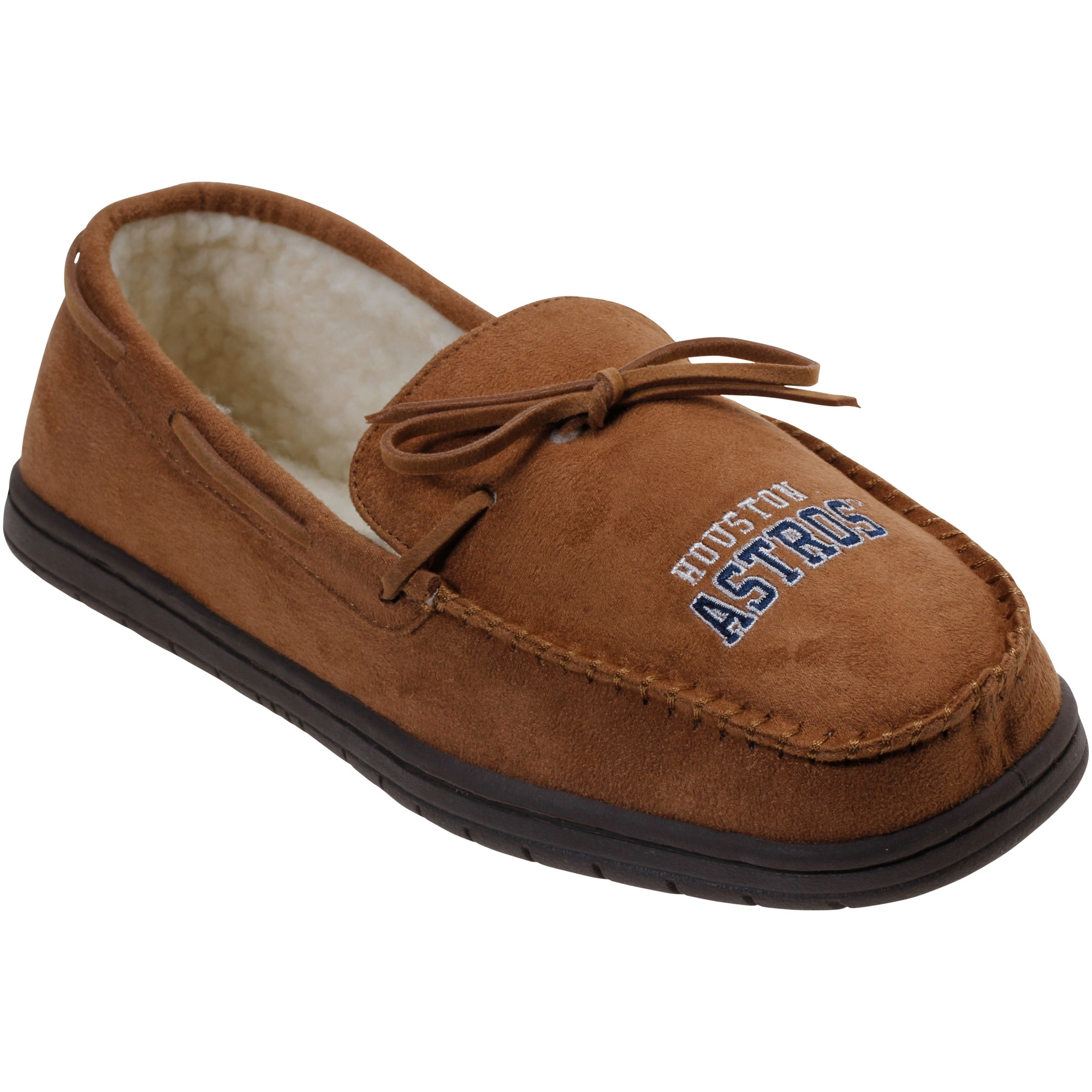 Houston Astros Moccasin Slippers