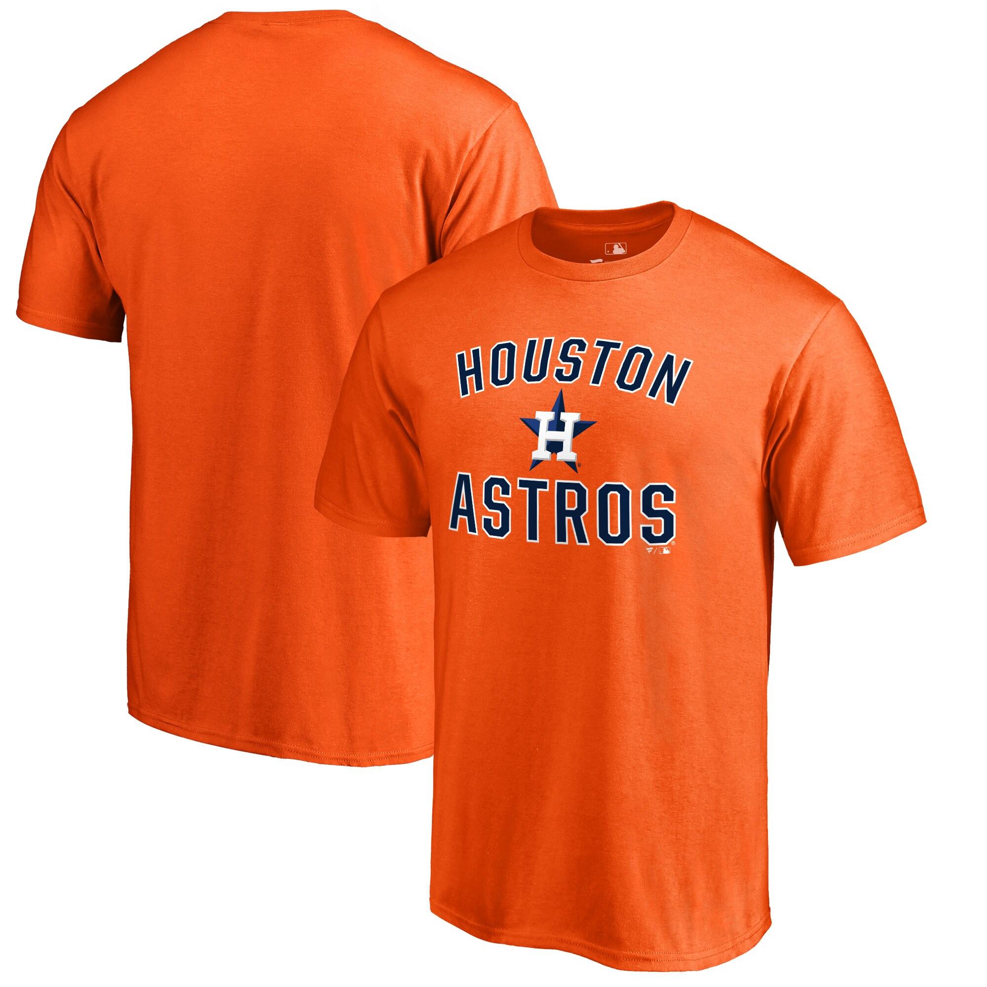 Houston Astros Victory Arch T-Shirt - Orange