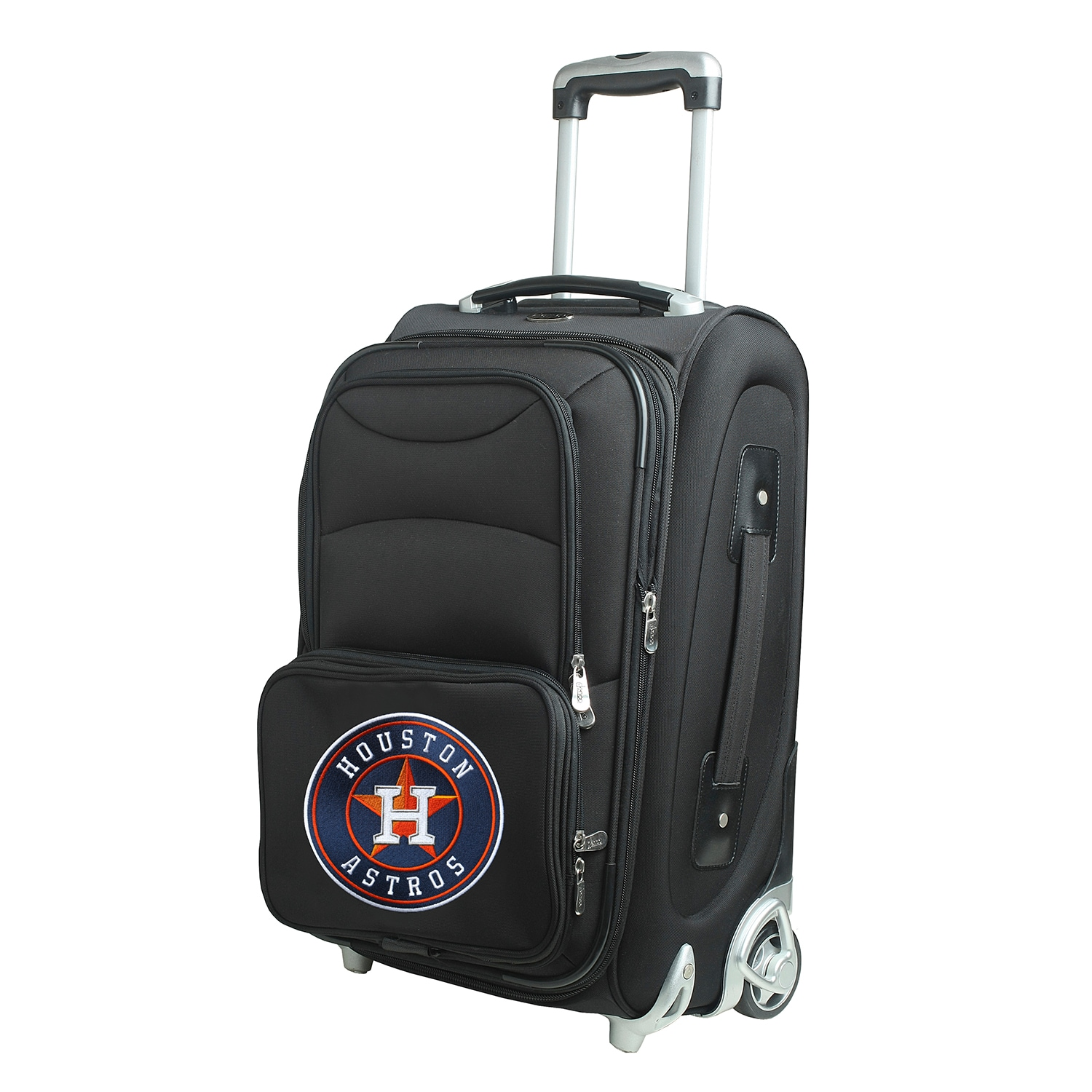 """Houston Astros 21"""" Rolling Carry-On Suitcase"""