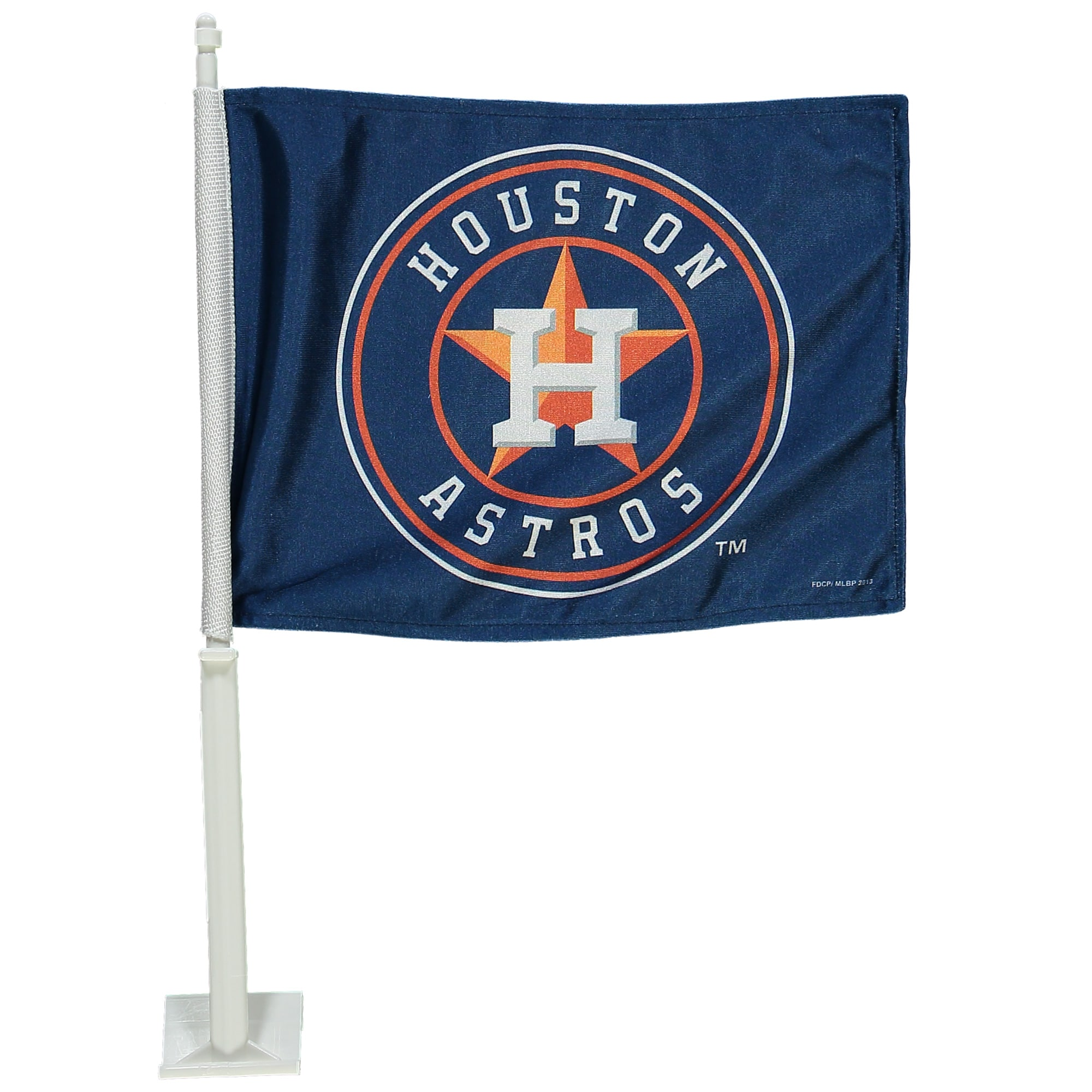 "Houston Astros 11"" x 14"" Logo Car Flag"
