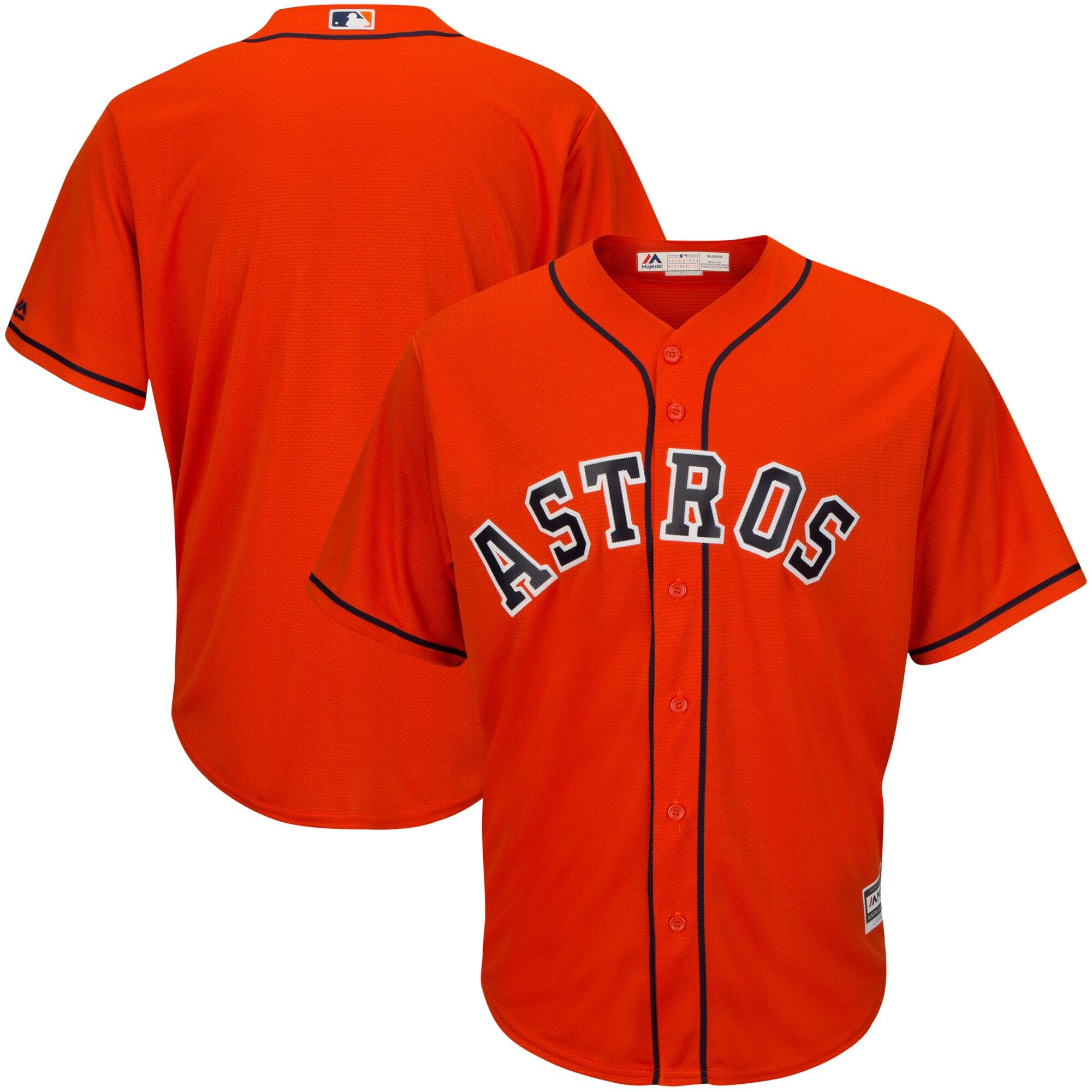 Houston Astros Majestic Big & Tall Cooperstown Cool Base Jersey - Multi