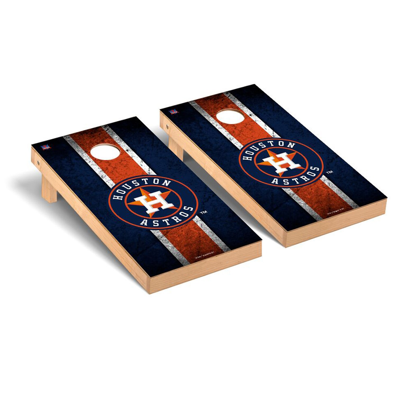 Houston Astros 2' x 4' Vintage Cornhole Board Tailgate Toss Set