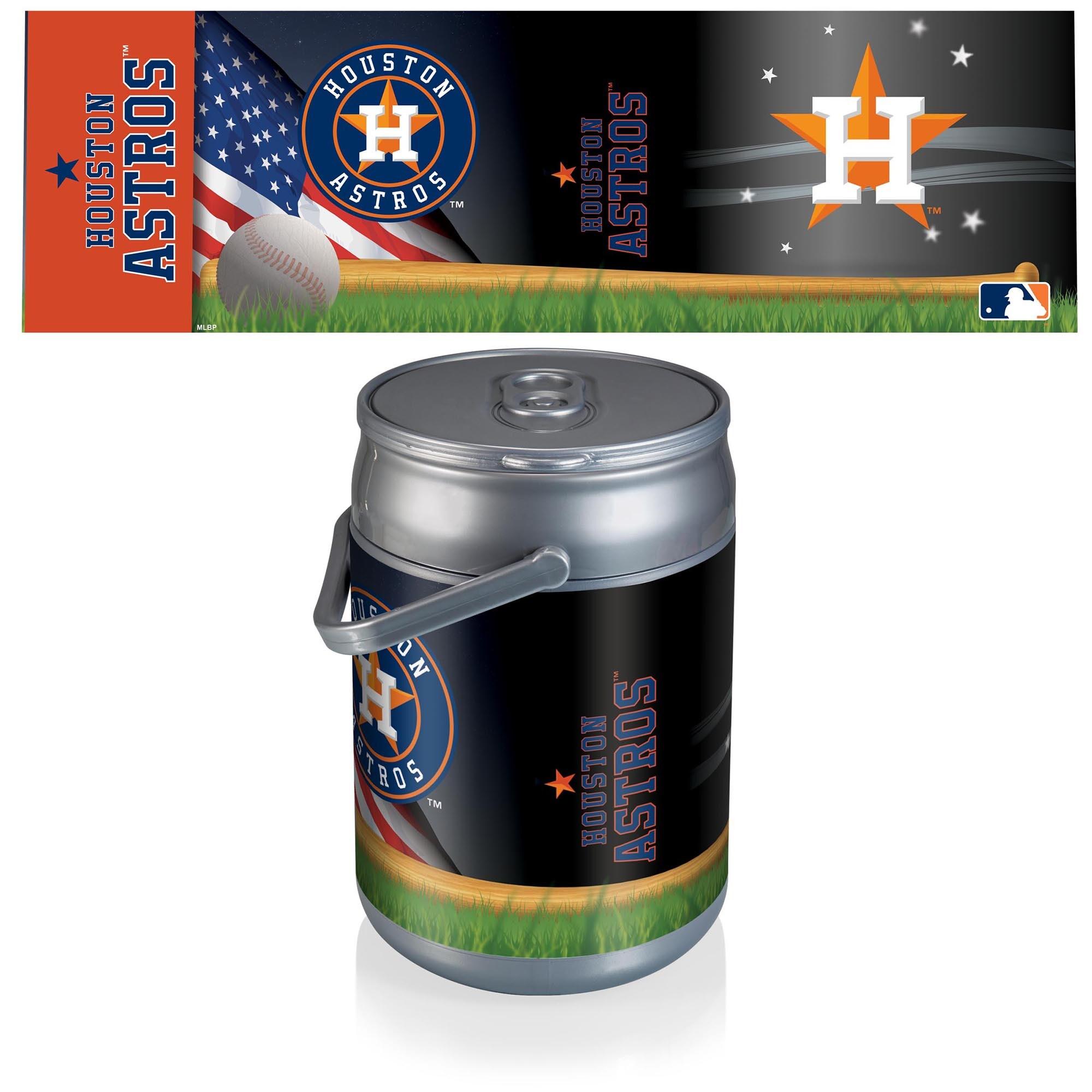 Houston Astros Baseball Can Cooler