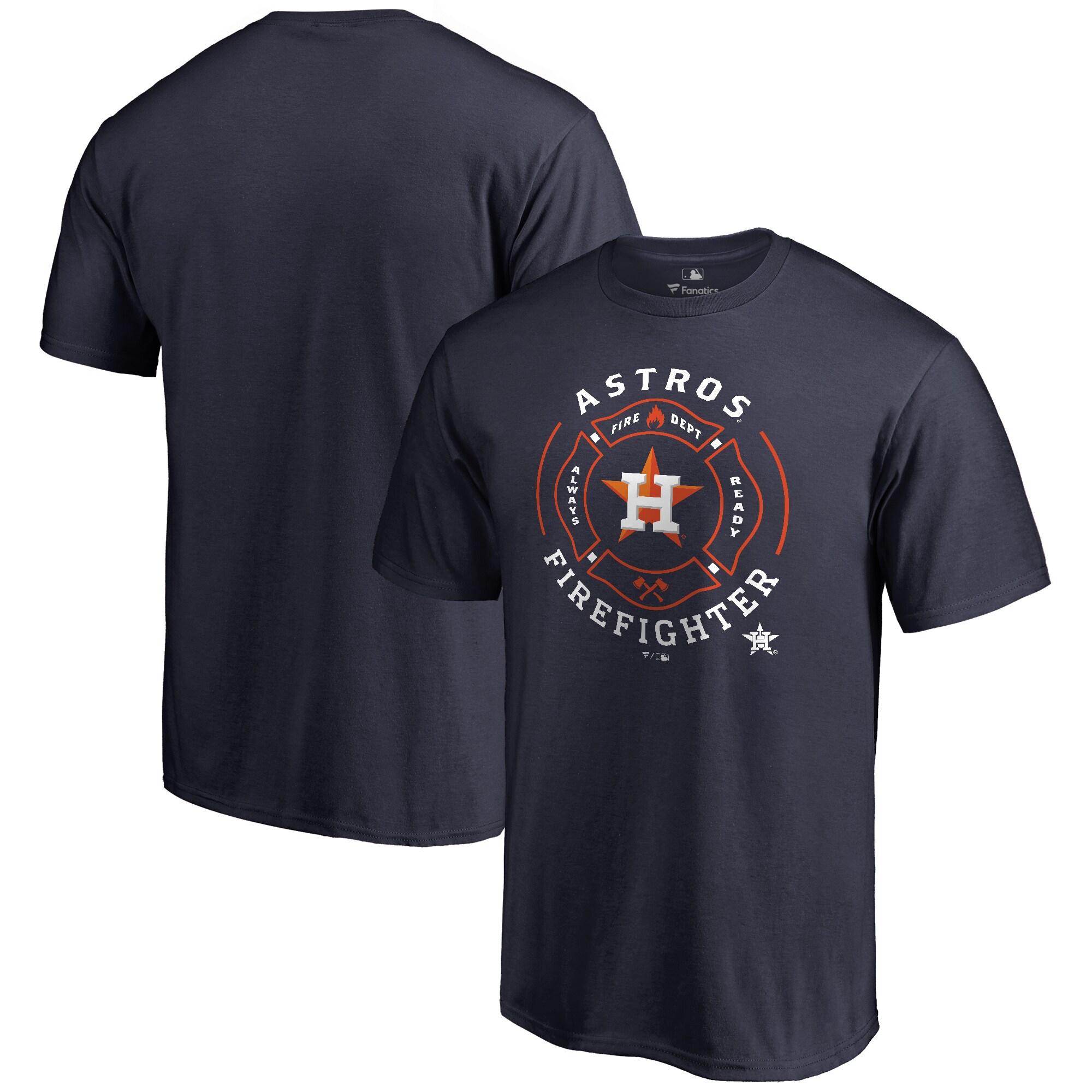 Houston Astros Firefighter T-Shirt - Navy