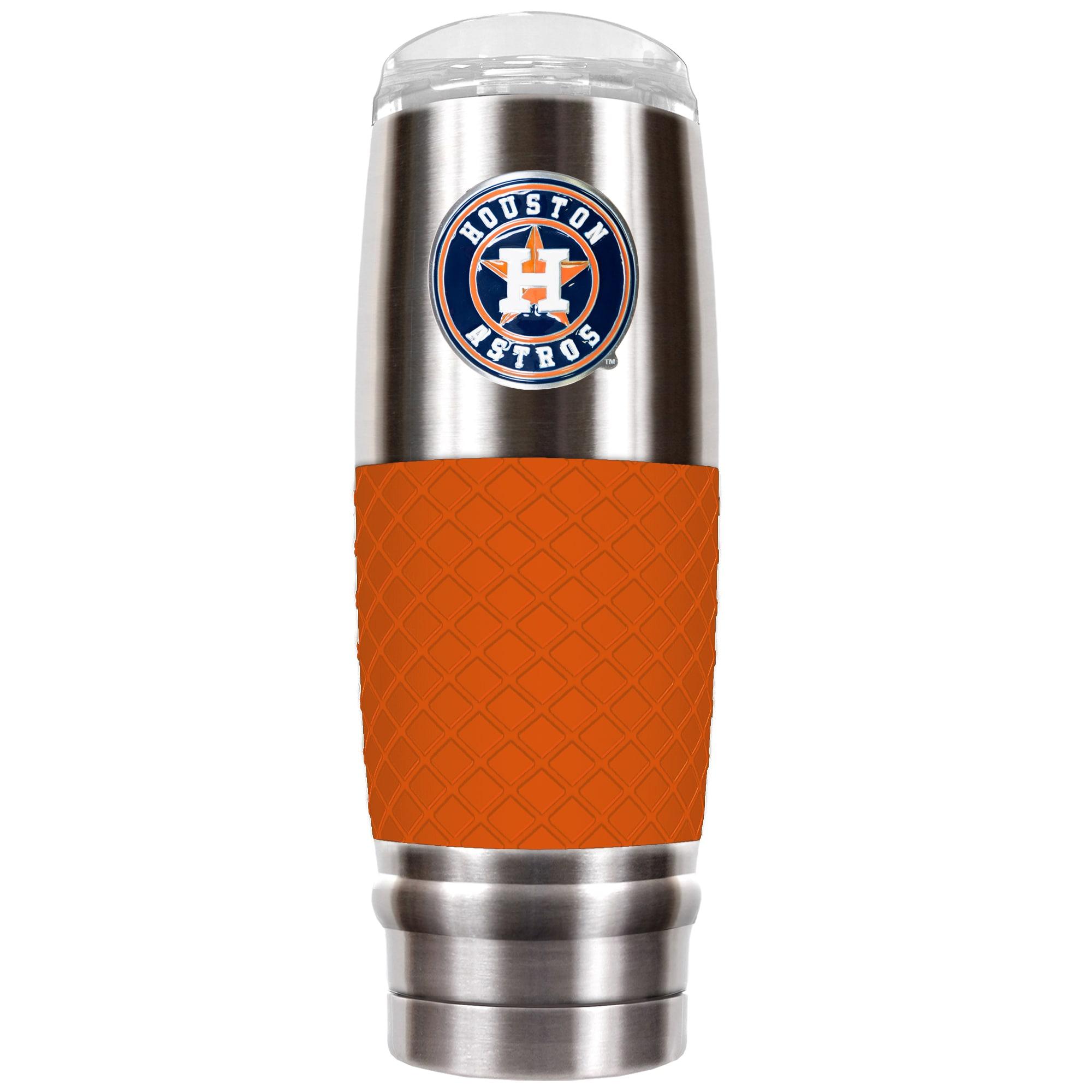 Houston Astros 30oz. The Reserve Vacuum-Insulated Travel Tumbler - Orange
