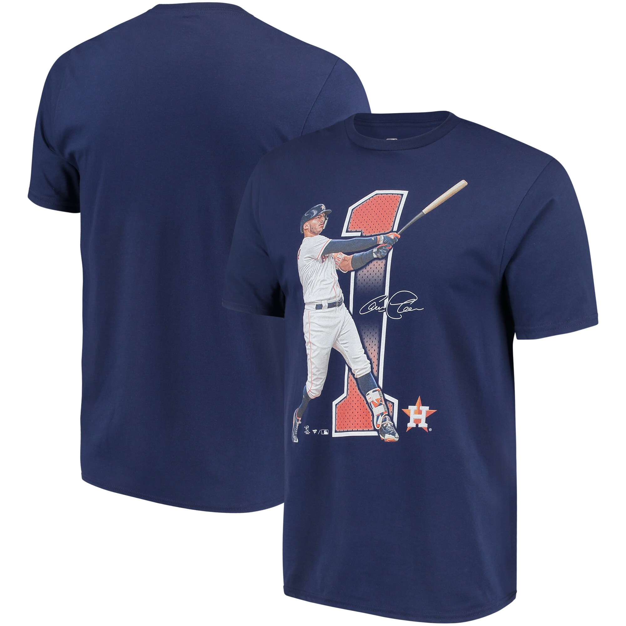 Carlos Correa Houston Astros Fanatics Branded Power House T-Shirt - Navy