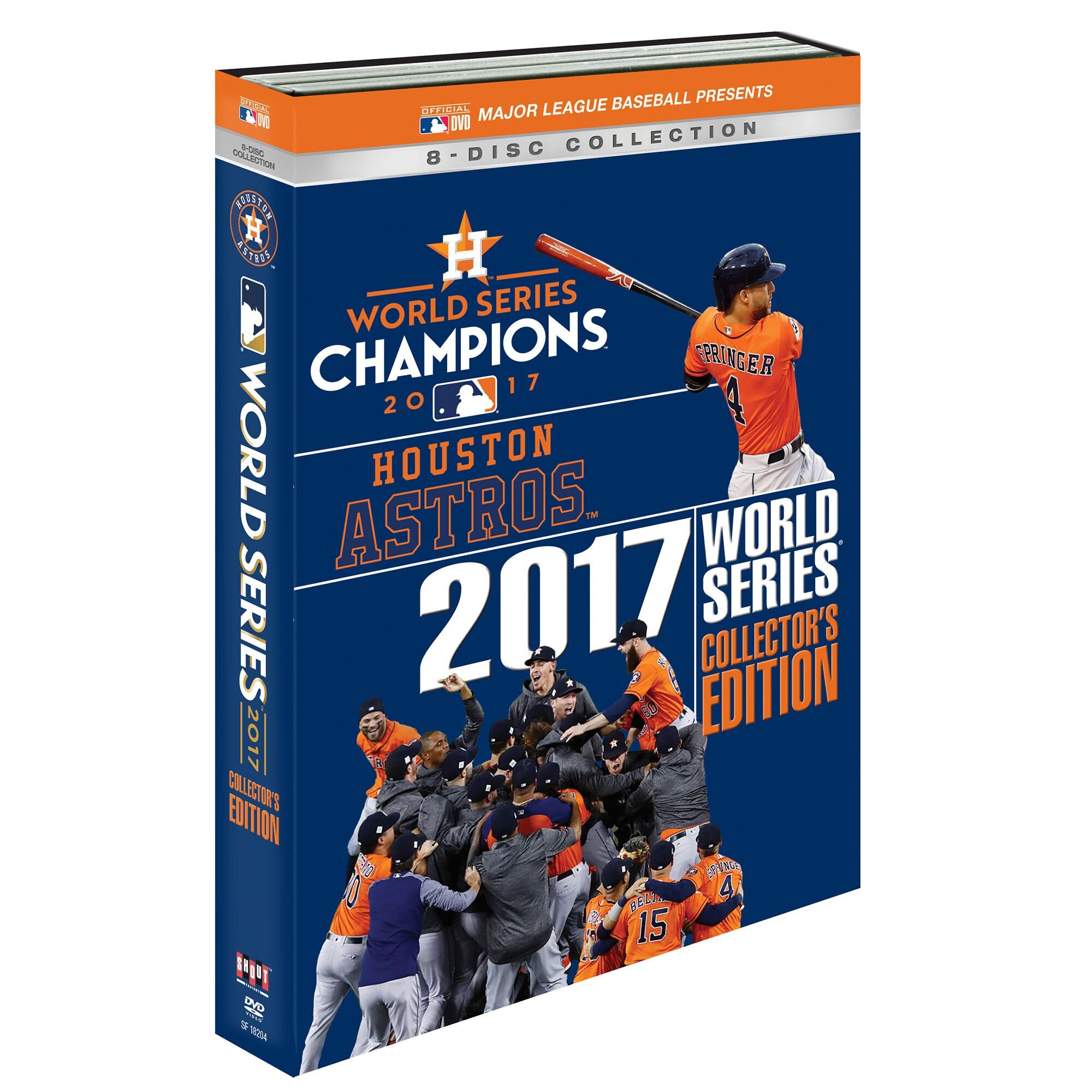 Houston Astros 2017 World Series Champions DVD Collector Set