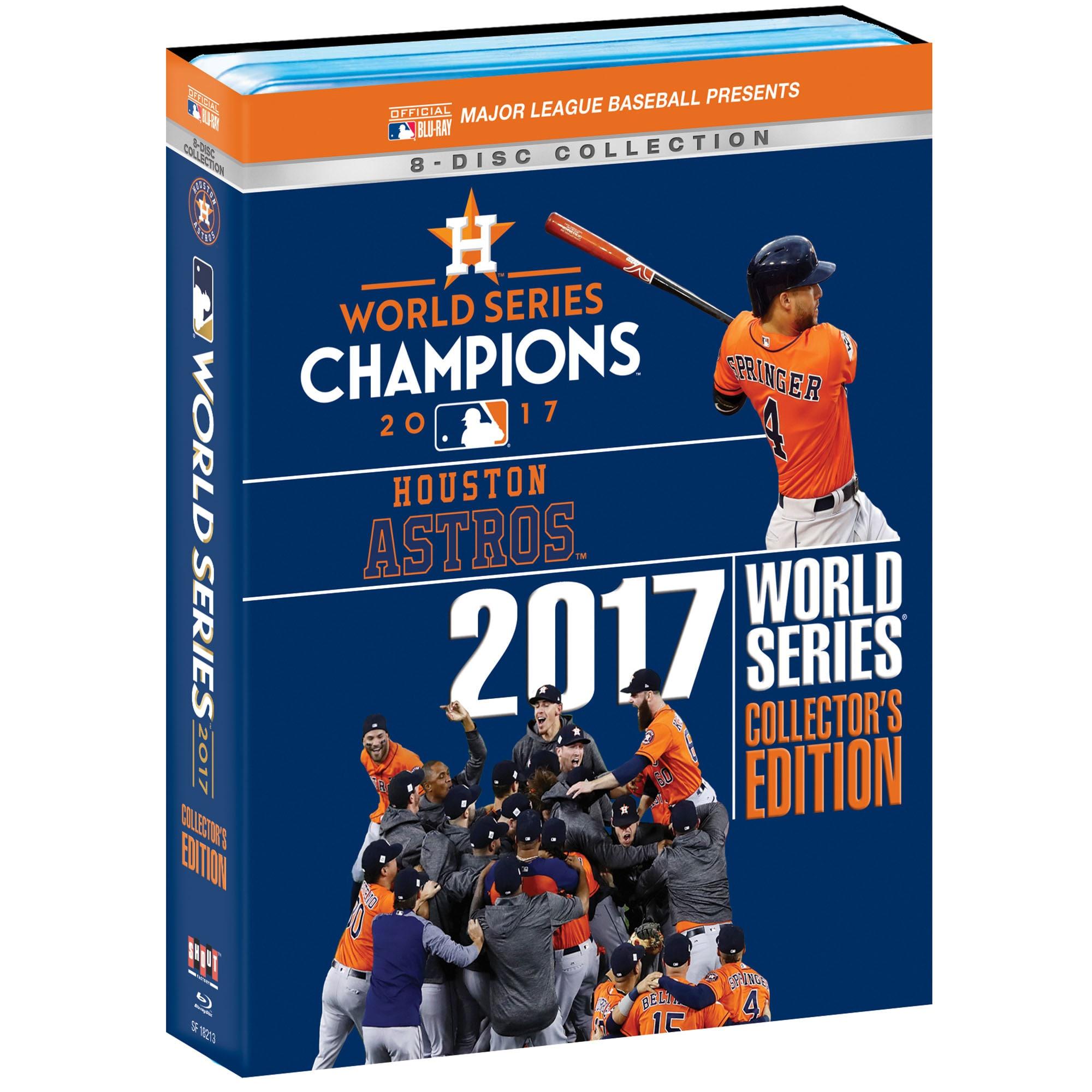 Houston Astros 2017 World Series Champions Blu-Ray Collector Set