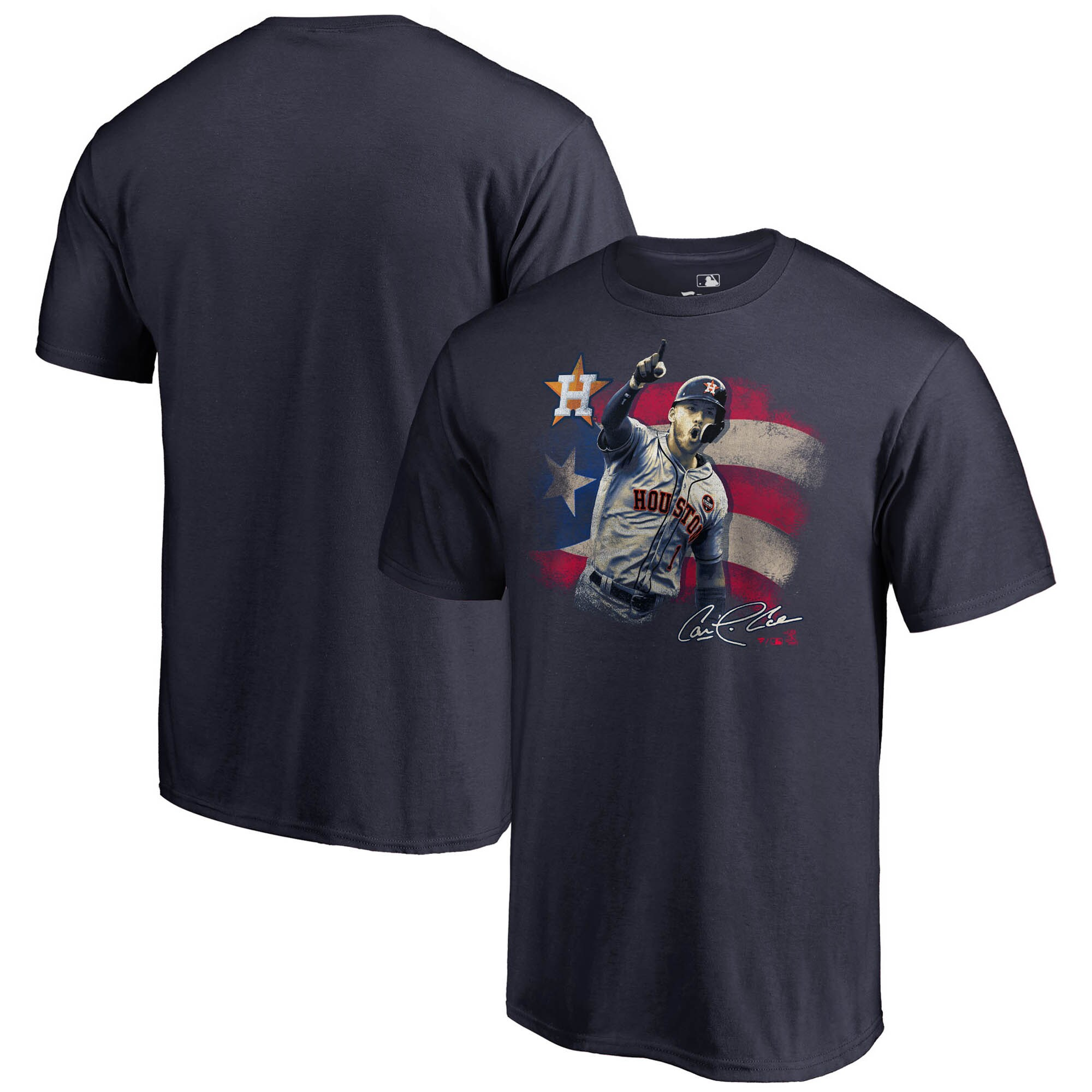 Carlos Correa Houston Astros Fanatics Branded Hometown Collection T-Shirt - Navy