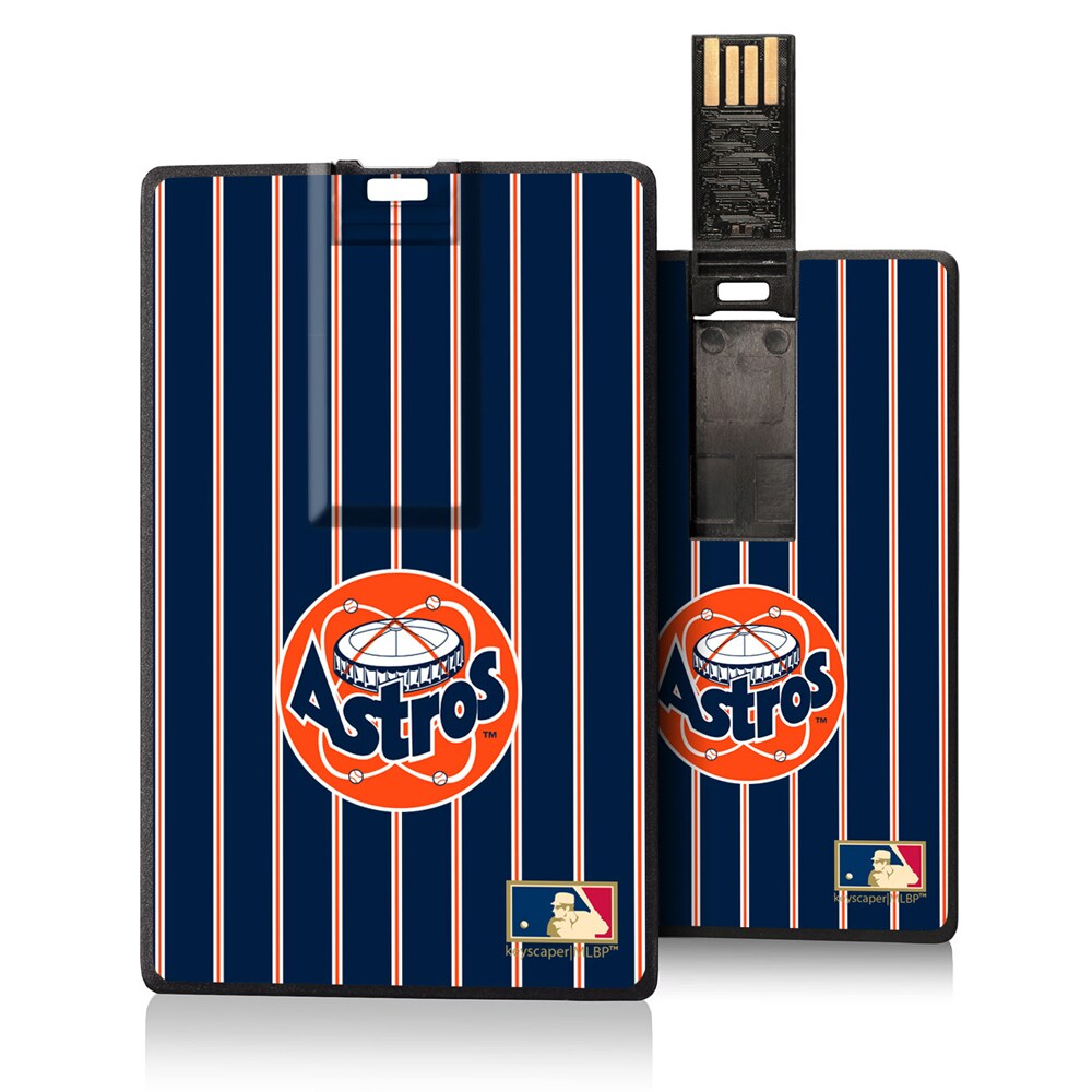 Houston Astros 1977-1998 Cooperstown Pinstripe Credit Card USB Drive