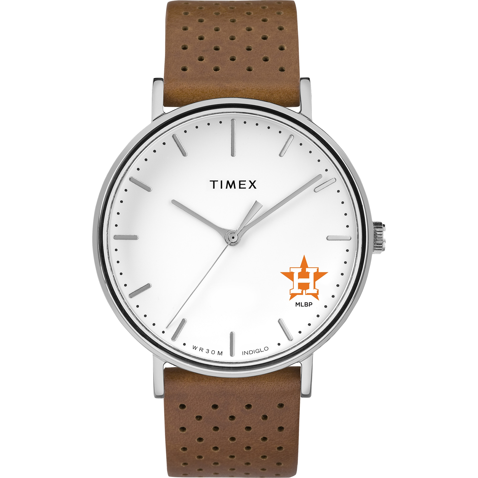 Houston Astros Timex Bright Whites Tribute Collection Watch