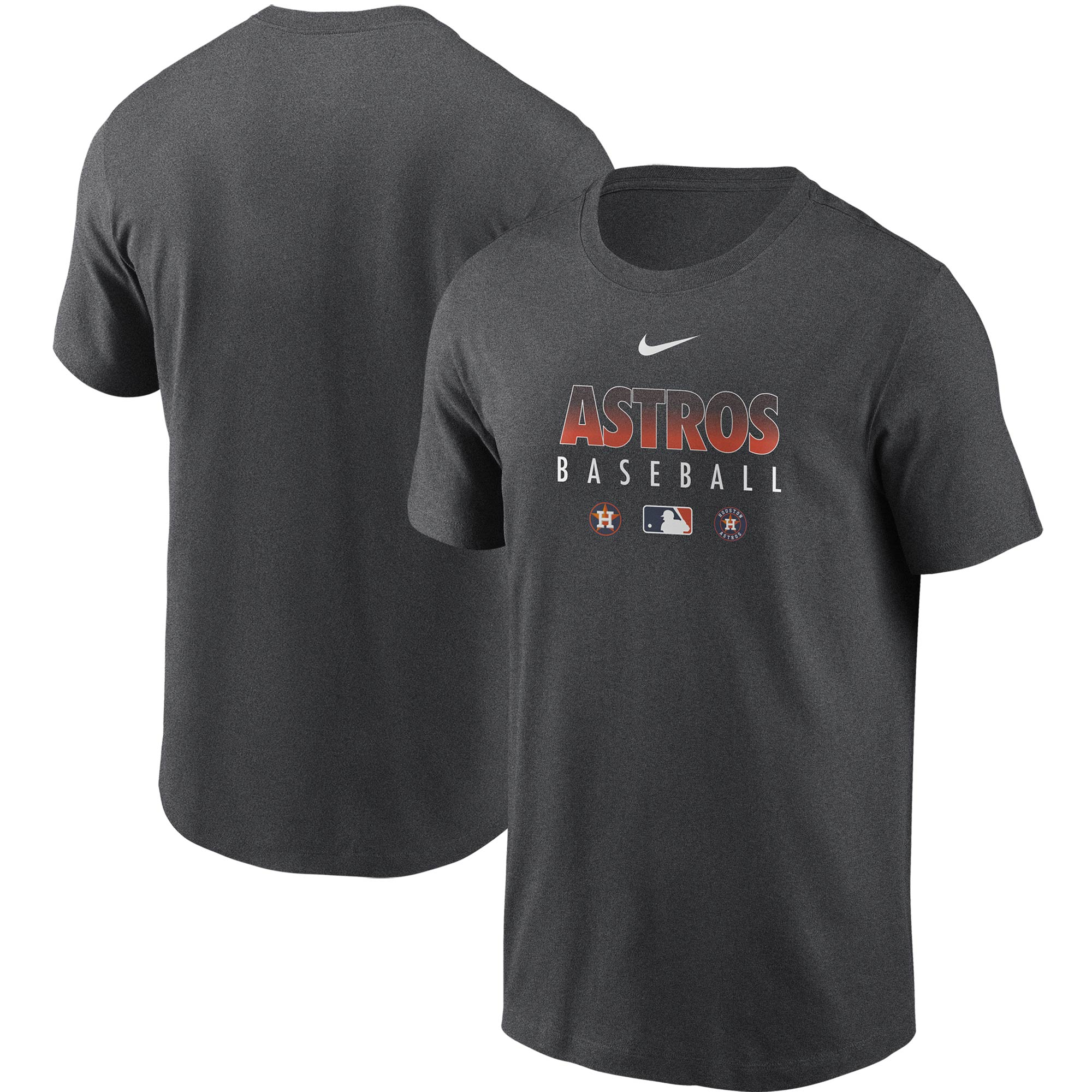 Houston Astros Nike Authentic Collection Team Performance T-Shirt - Gray