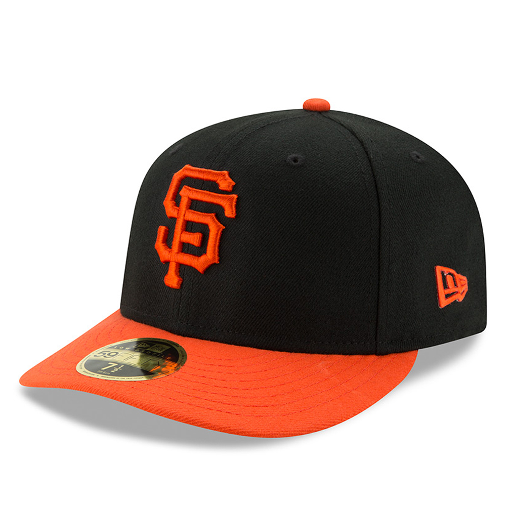 San Francisco Giants New Era Alternate Authentic Collection On-Field Low Profile 59FIFTY Fitted Hat - Black/Orange