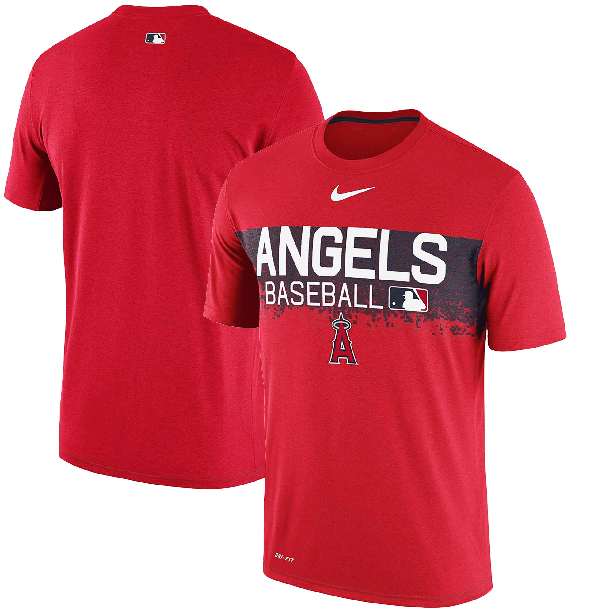 Los Angeles Angels Nike Authentic Collection Legend Team Issued Performance T-Shirt - Red