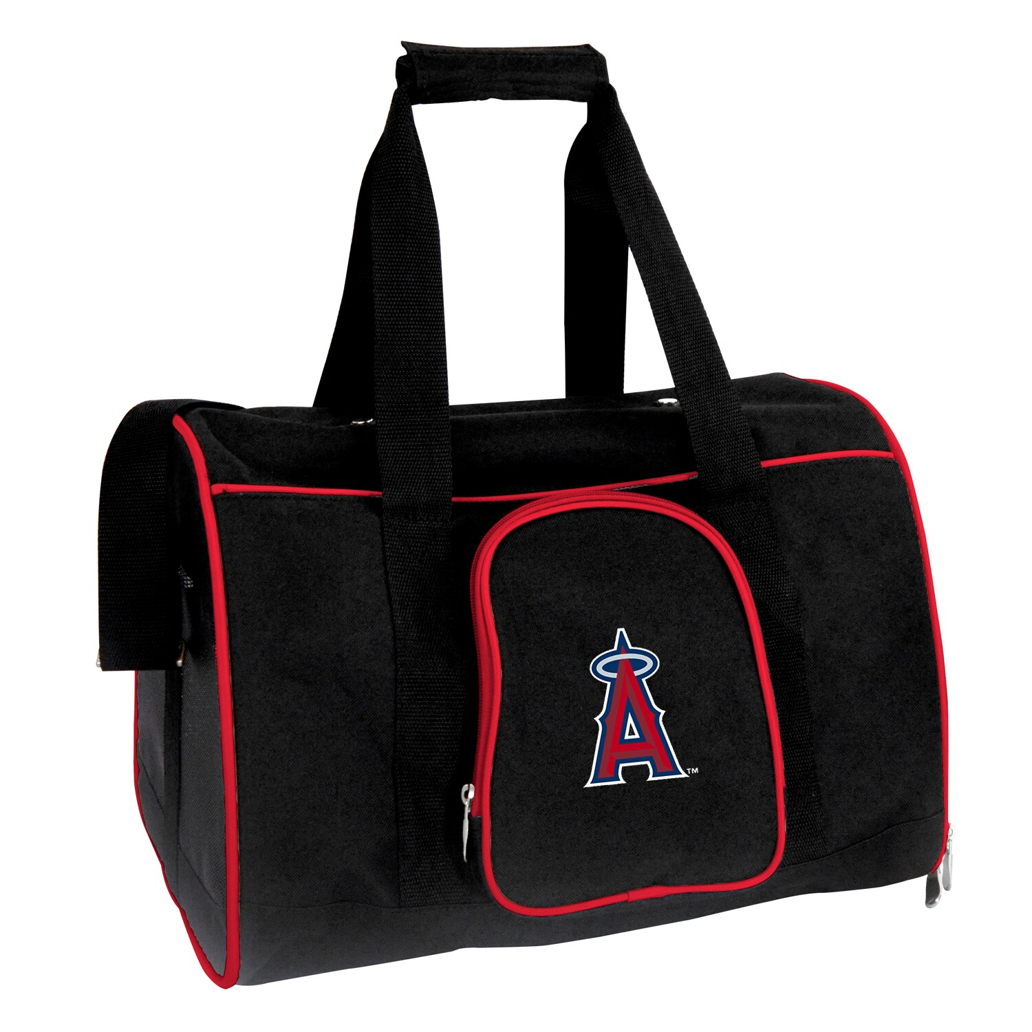 "Los Angeles Angels Small 16"" Pet Carrier - Black"