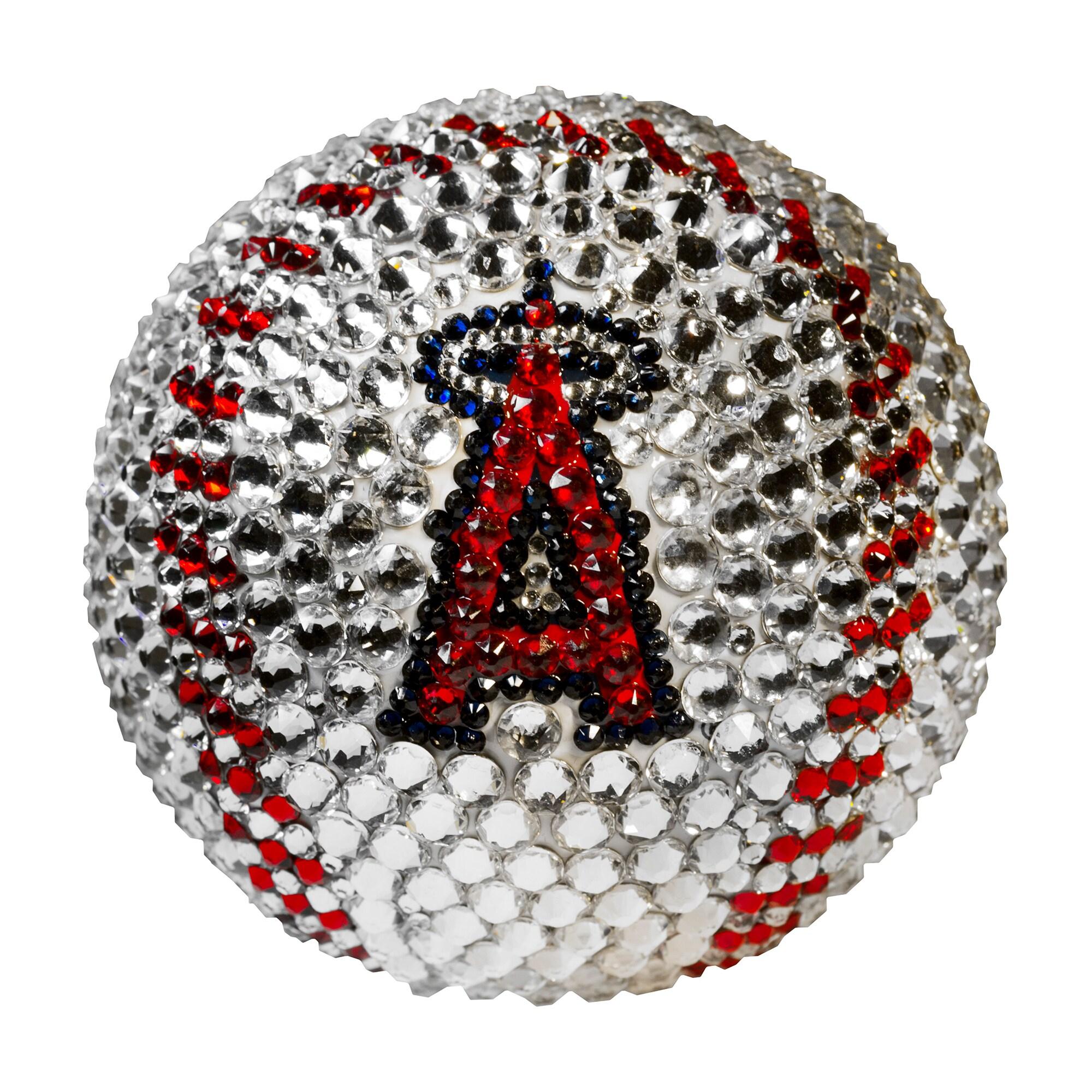 Los Angeles Angels Crystal Baseball