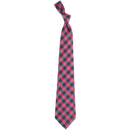 Los Angeles Angels Woven Checkered Tie