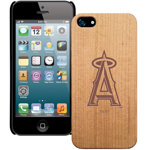 Los Angeles Angels Wooden iPhone 5 Primary Case