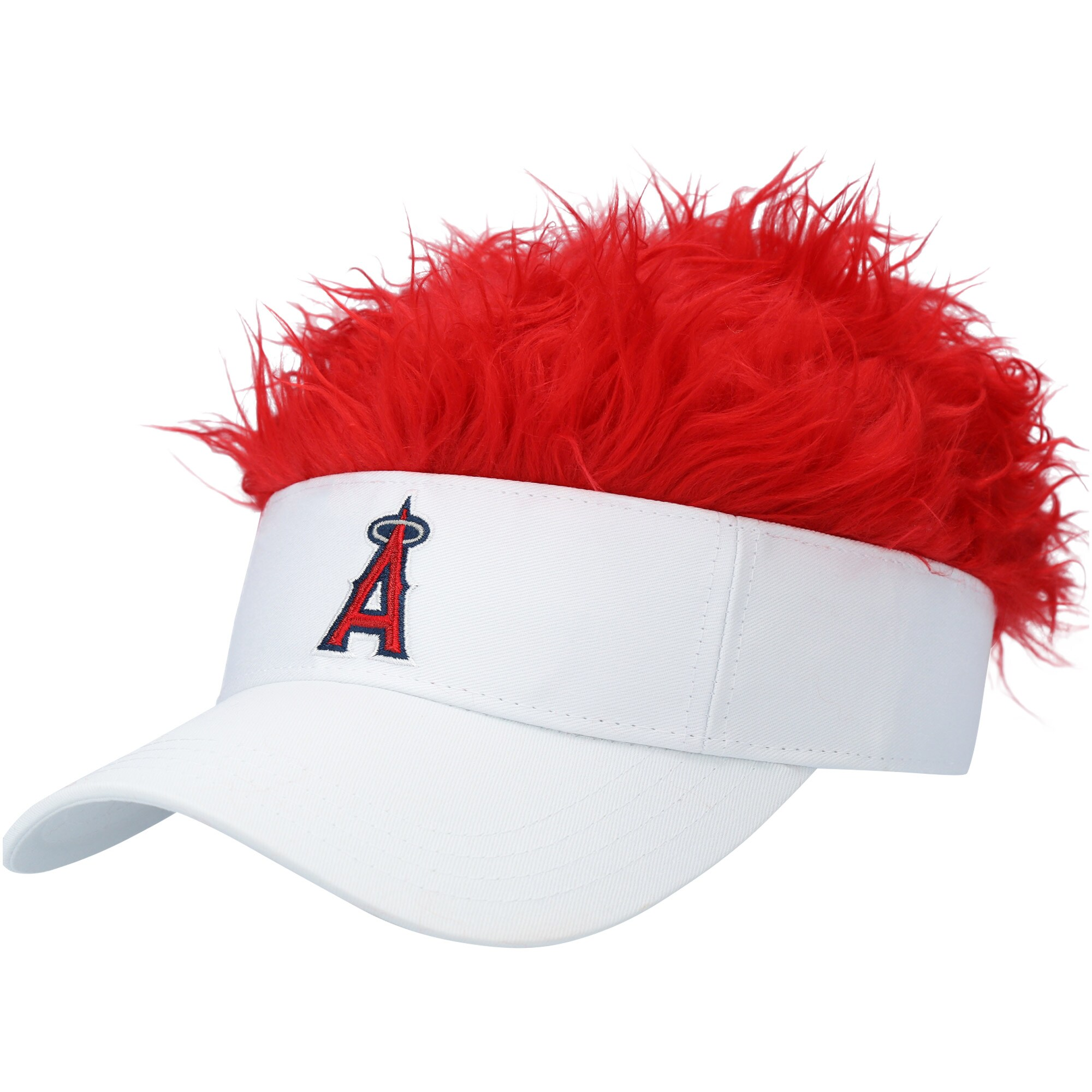 Los Angeles Angels Flair Hair Visor