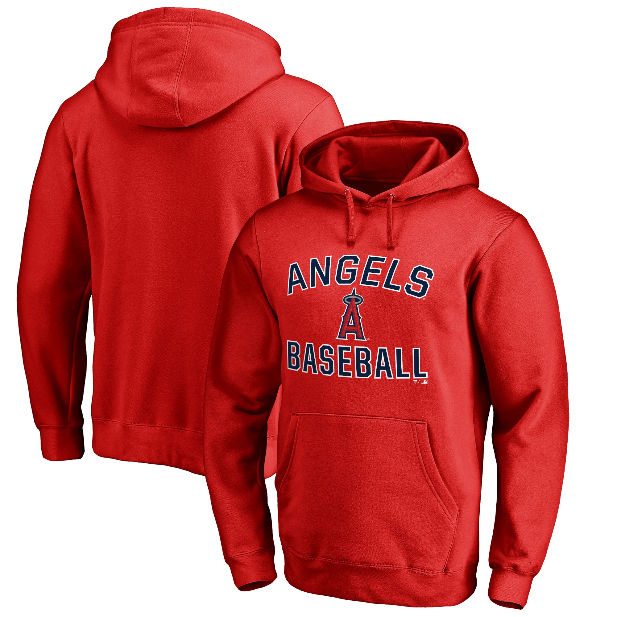 Los Angeles Angels Victory Arch Big & Tall Pullover Hoodie - Red