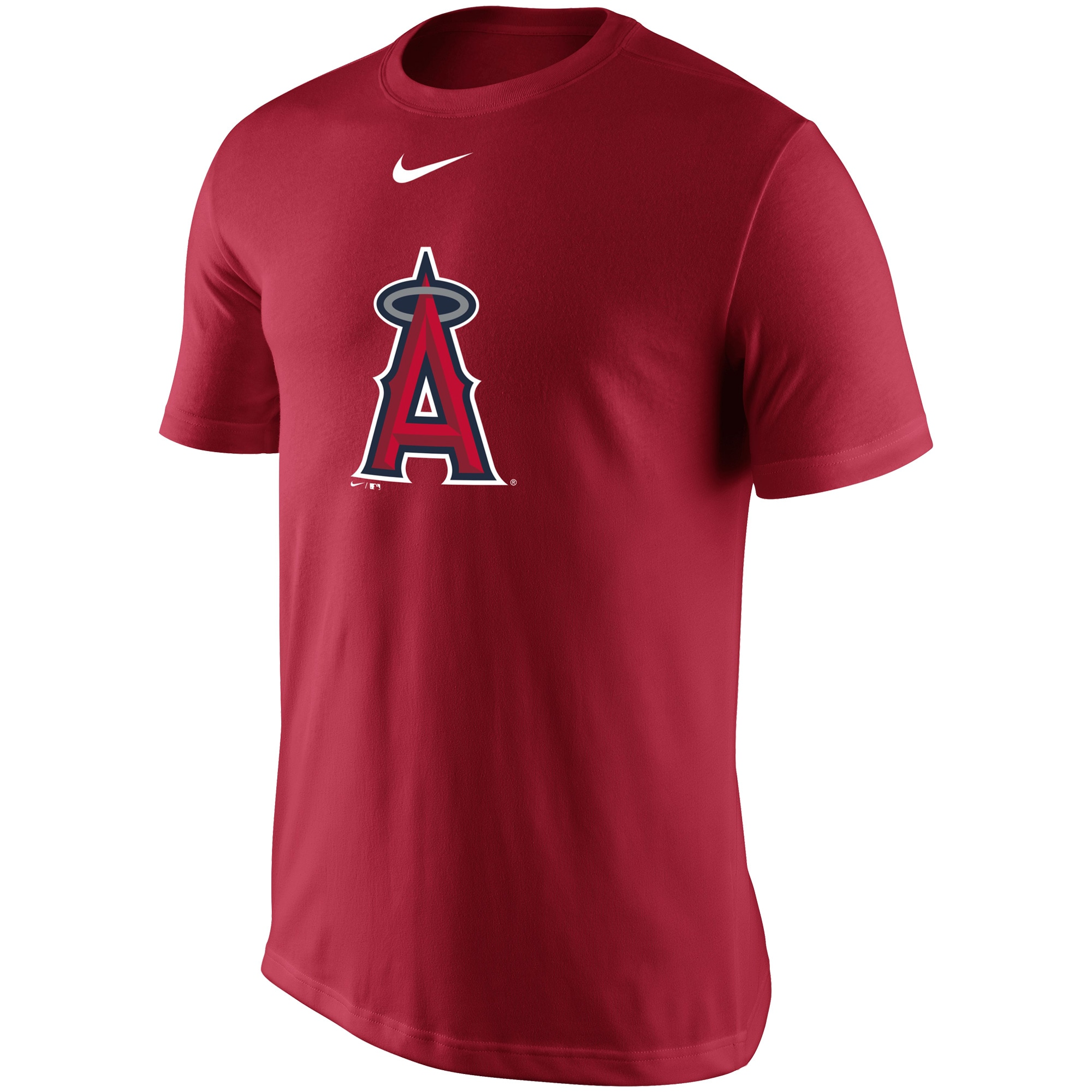 Los Angeles Angels Nike Legend Batting Practice Primary Logo Performance T-Shirt - Red