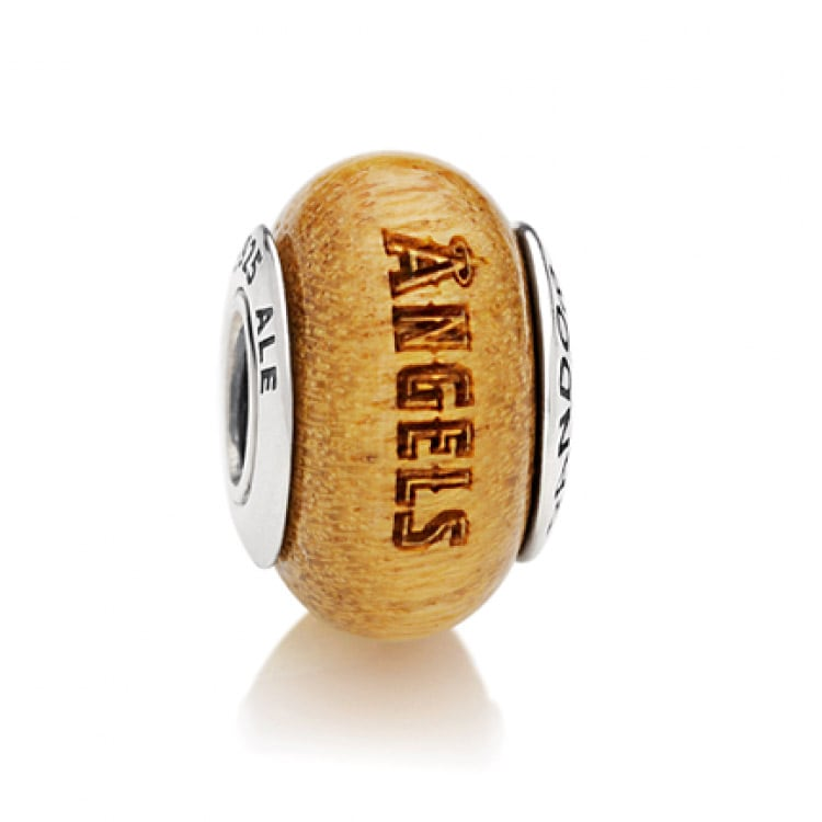 Los Angeles Angels Pandora Women's Wood Charm