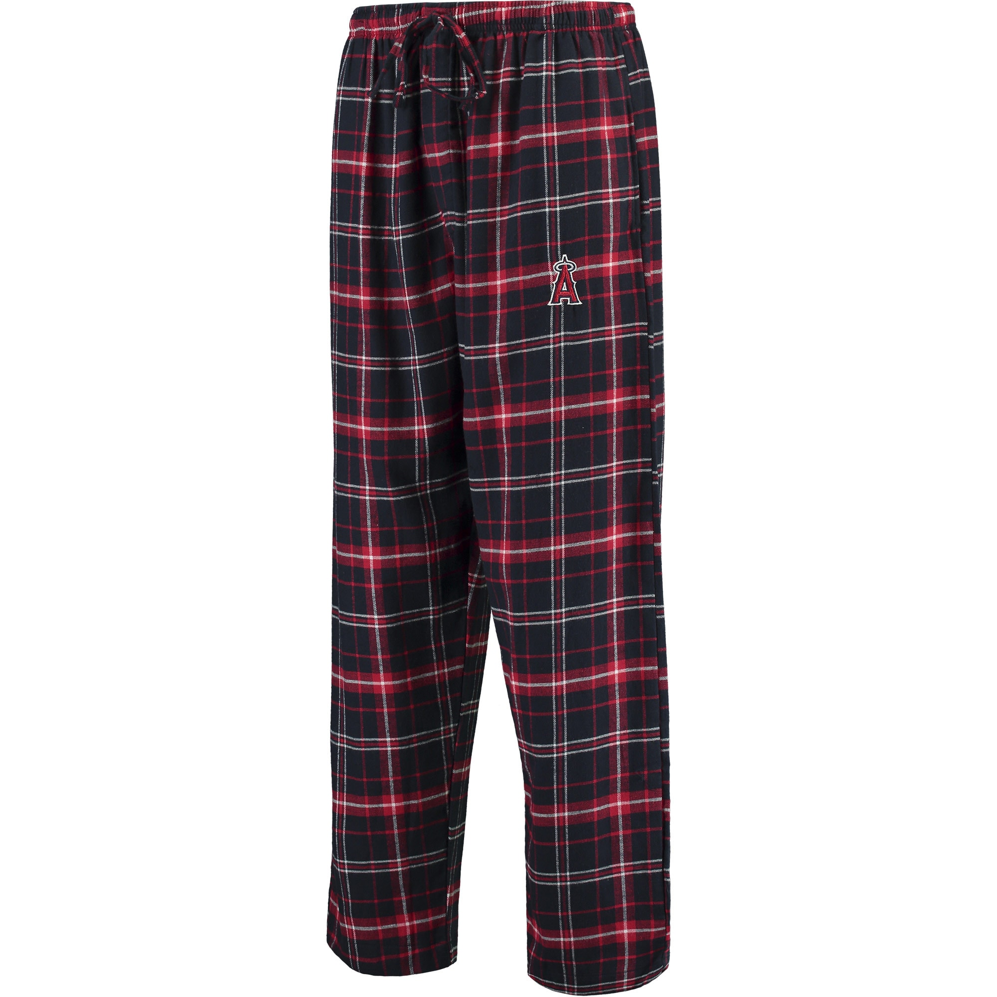 Los Angeles Angels Concepts Sport Ultimate Plaid Flannel Pants - Navy/Red