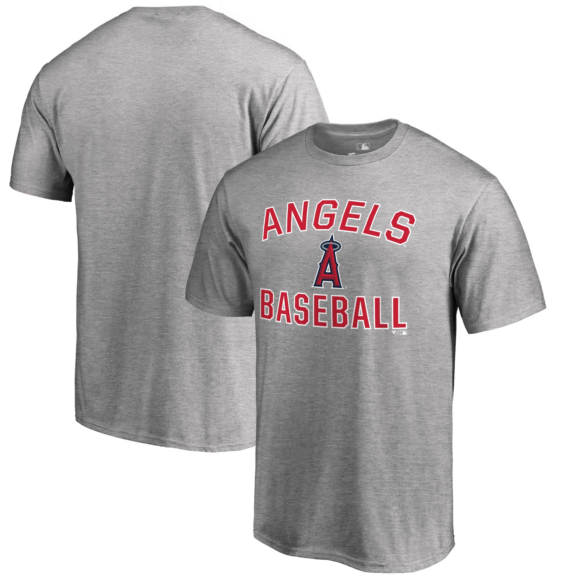 Los Angeles Angels Big & Tall Victory Arch T-Shirt - Ash