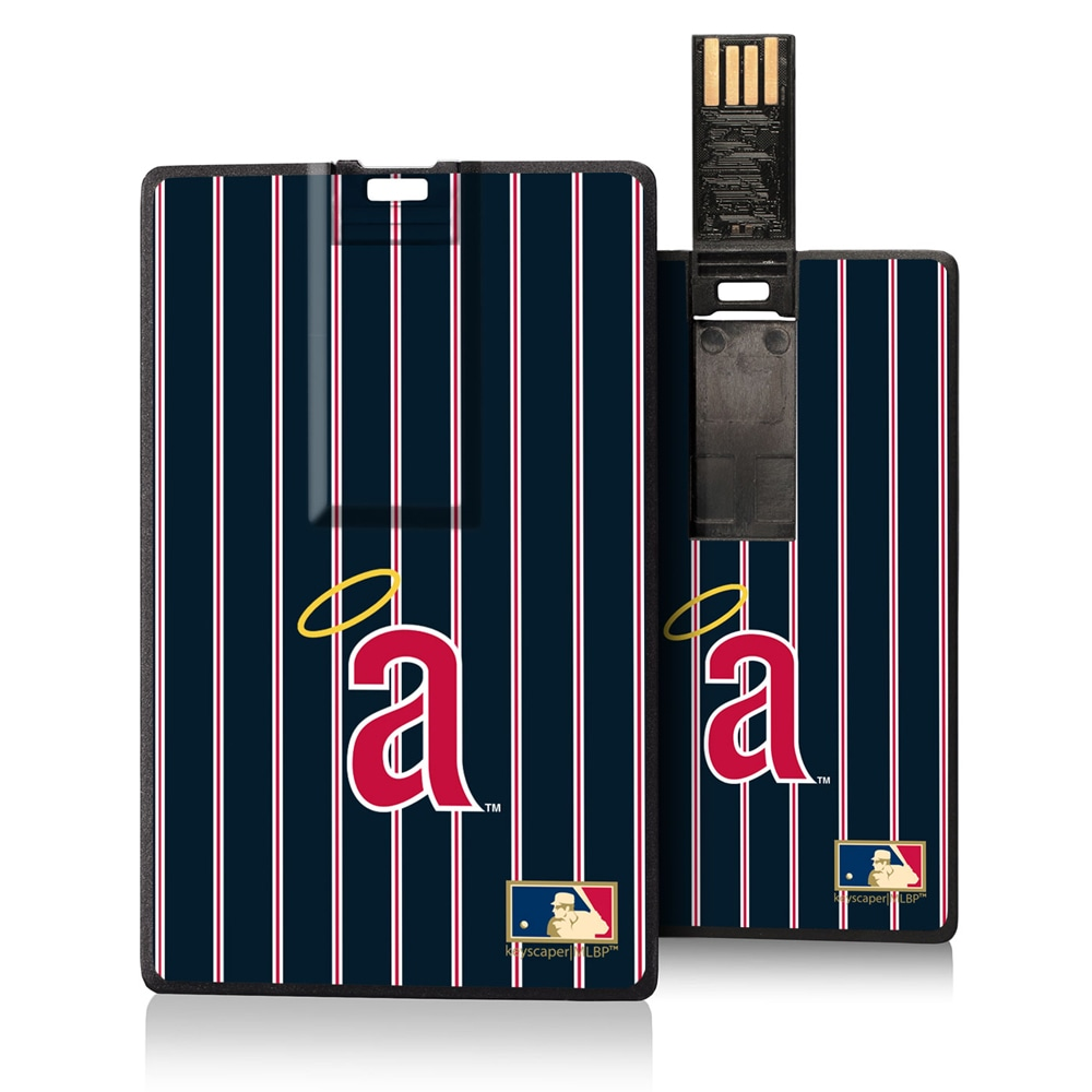 Los Angeles Angels 1971 Cooperstown Pinstripe Credit Card USB Drive