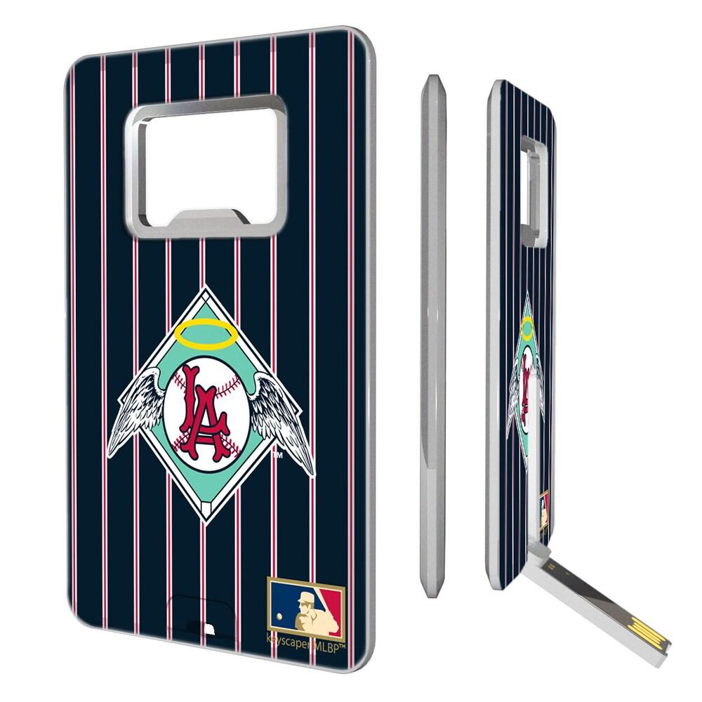 Los Angeles Angels 1961-1965 Cooperstown Pinstripe Credit Card USB Drive & Bottle Opener