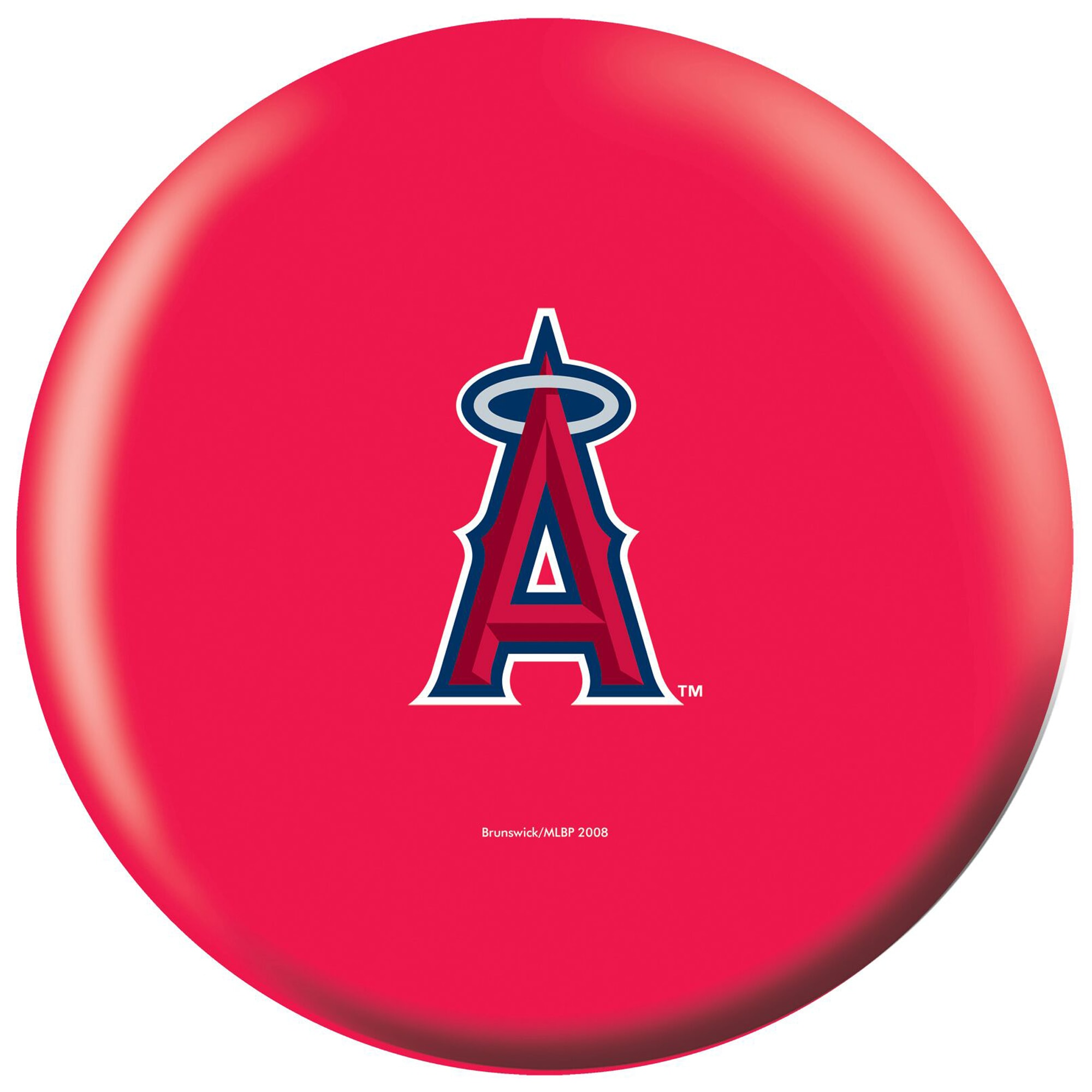 Los Angeles Angels Bowling Ball