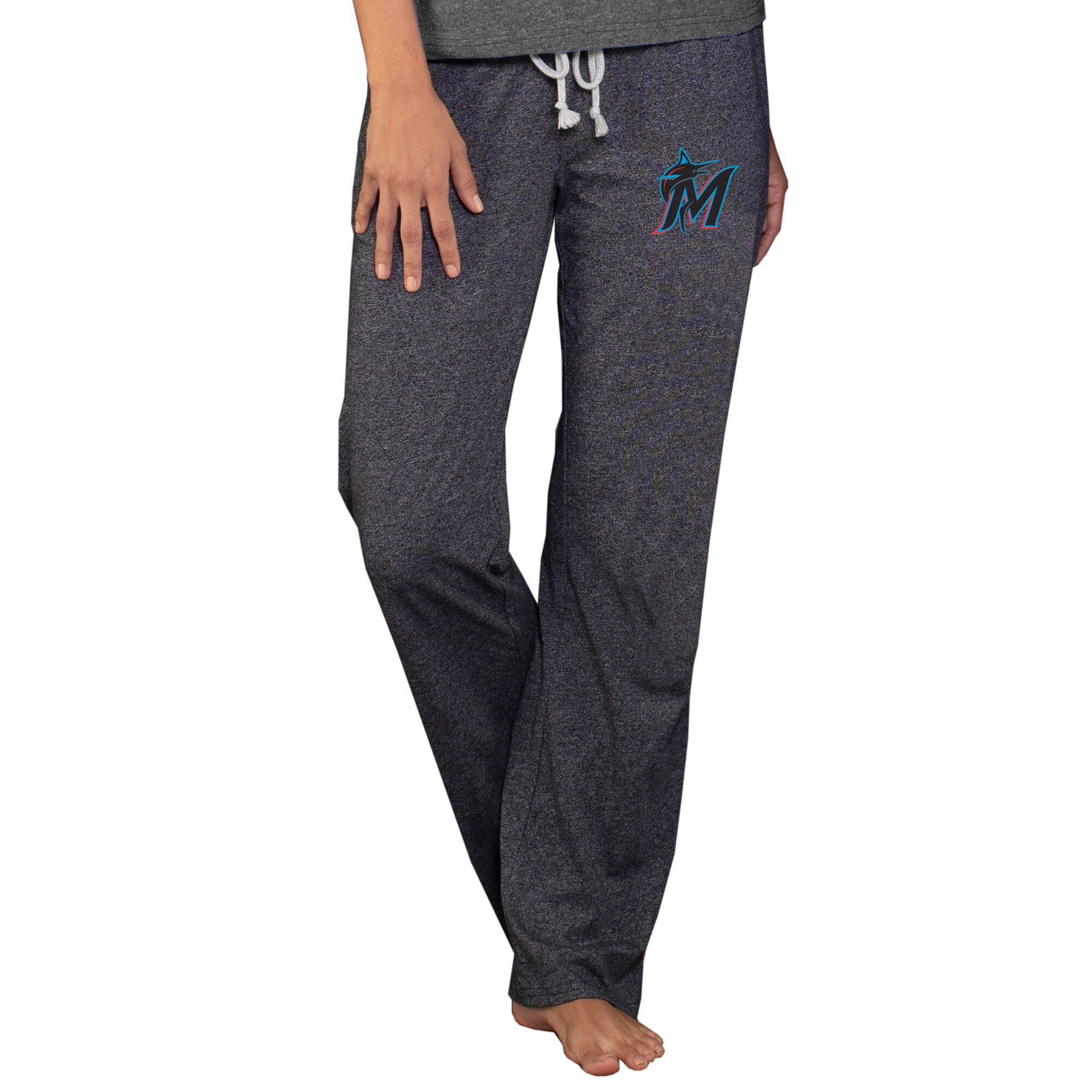 Miami Marlins Concepts Sport Women's Quest Knit Pants - Charcoal