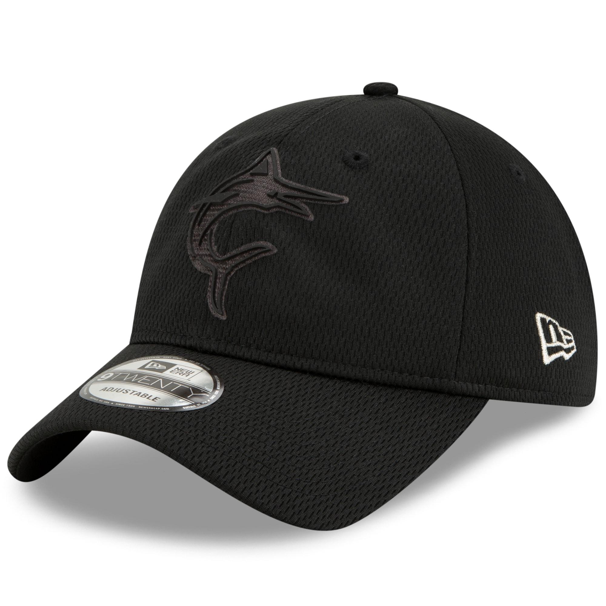 Miami Marlins New Era 2019 Players' Weekend 9TWENTY Adjustable Hat - Black