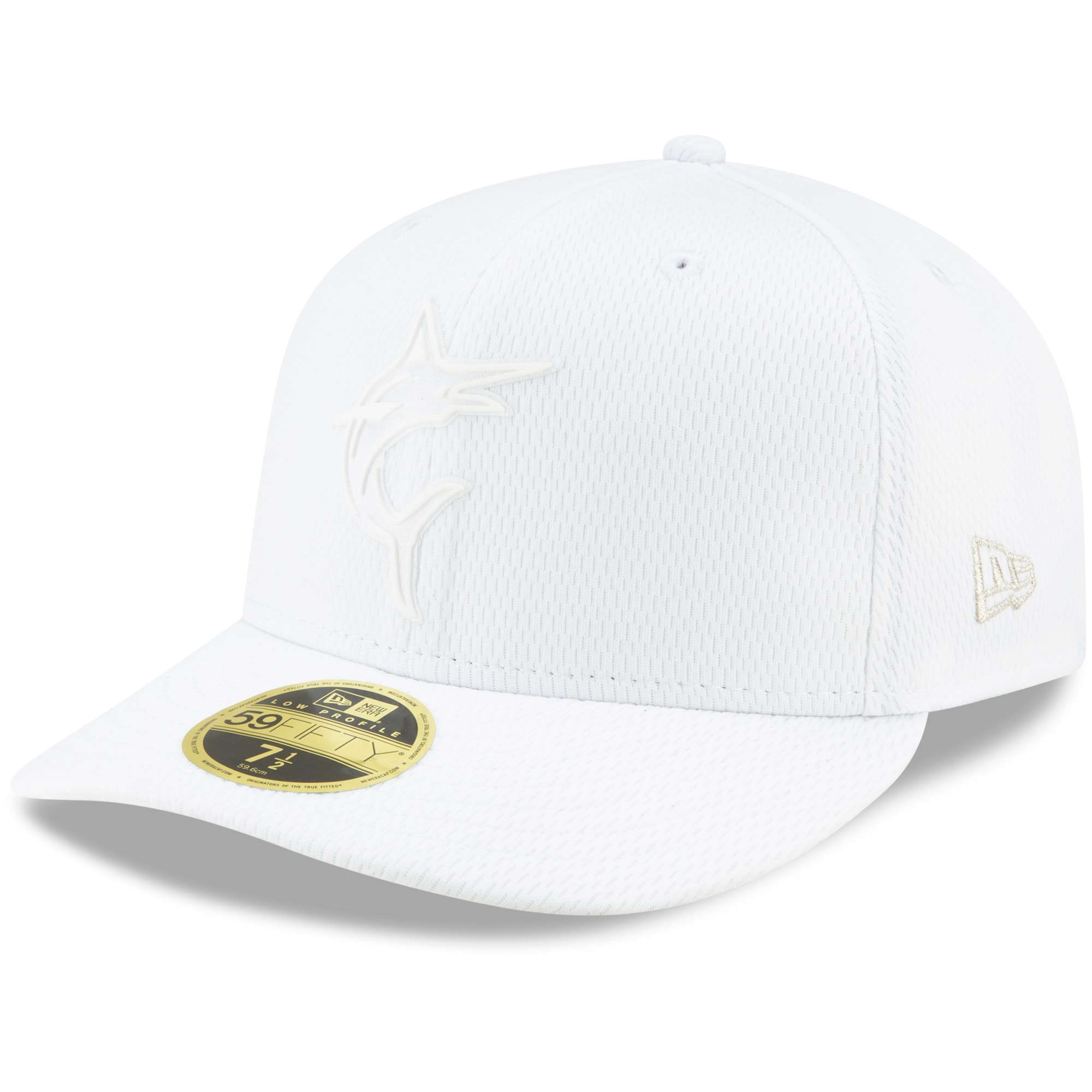 Miami Marlins New Era 2019 Players' Weekend On-Field Low Profile 59FIFTY Fitted Hat - White