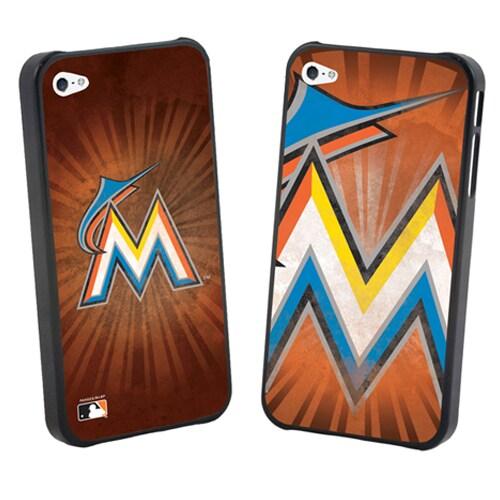 Miami Marlins Large Logo Lenticular iPhone 5 Case
